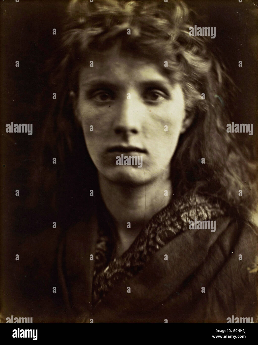 Julia Margaret Cameron - The Mountain Nymph, Sweet Li - Stock Image