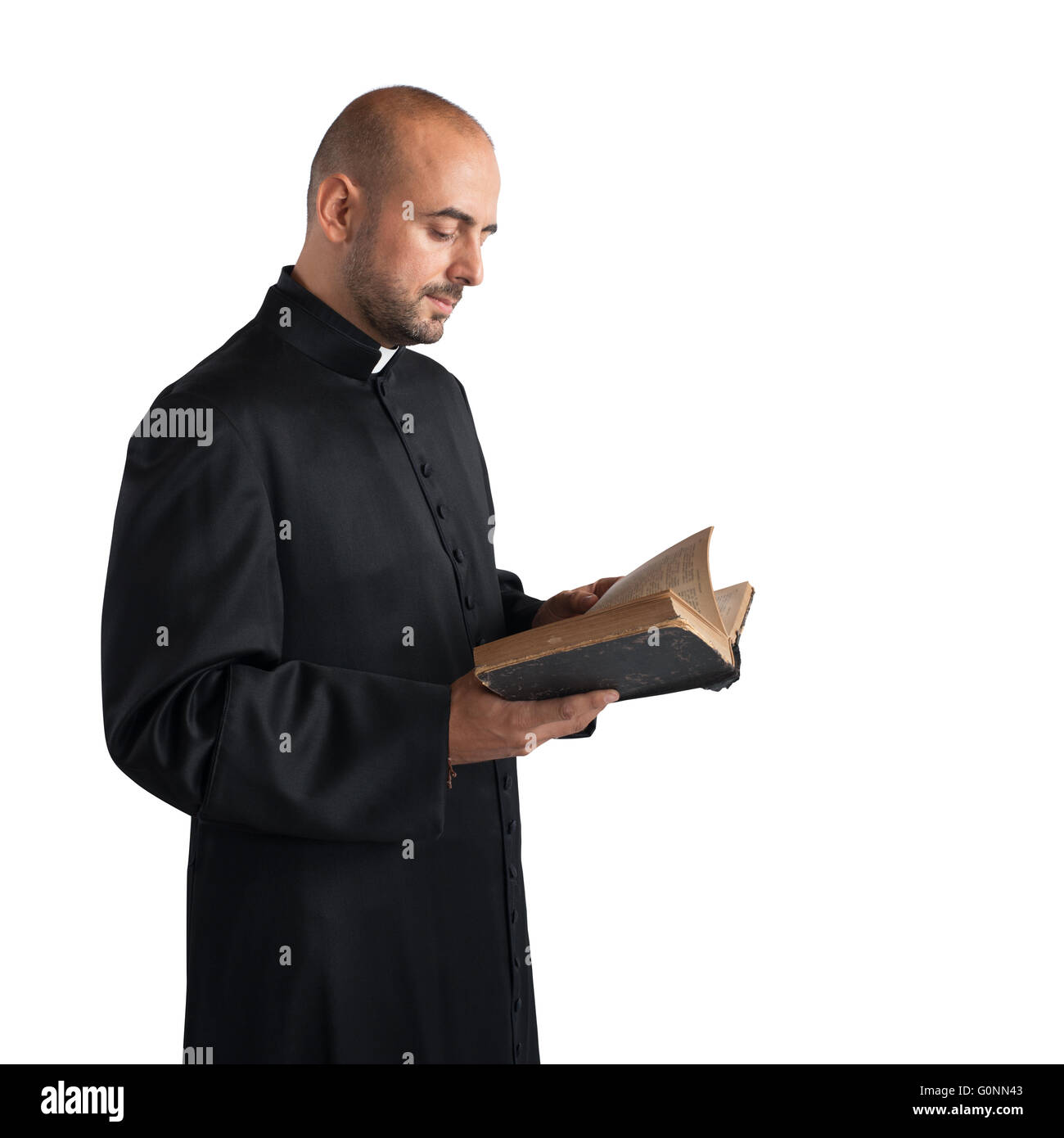 Text of the Bible - Stock Image
