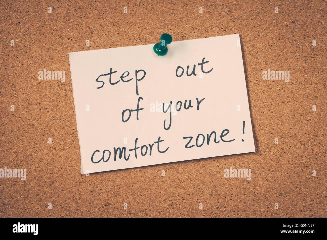 comfort zone Stock Photo