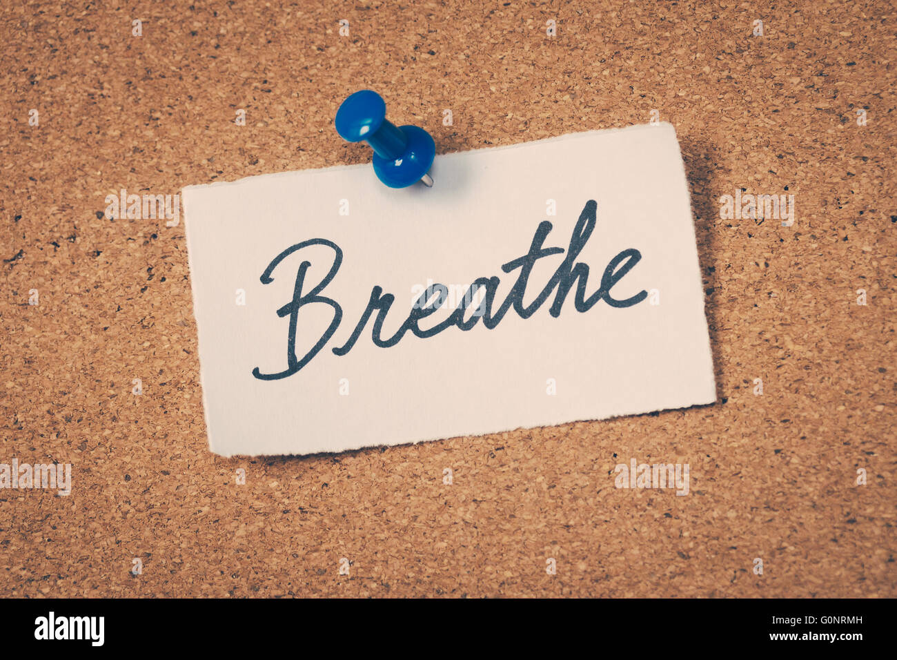 Breathe - Stock Image