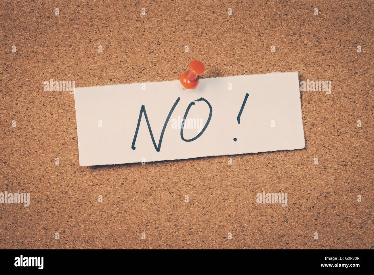 No - Stock Image