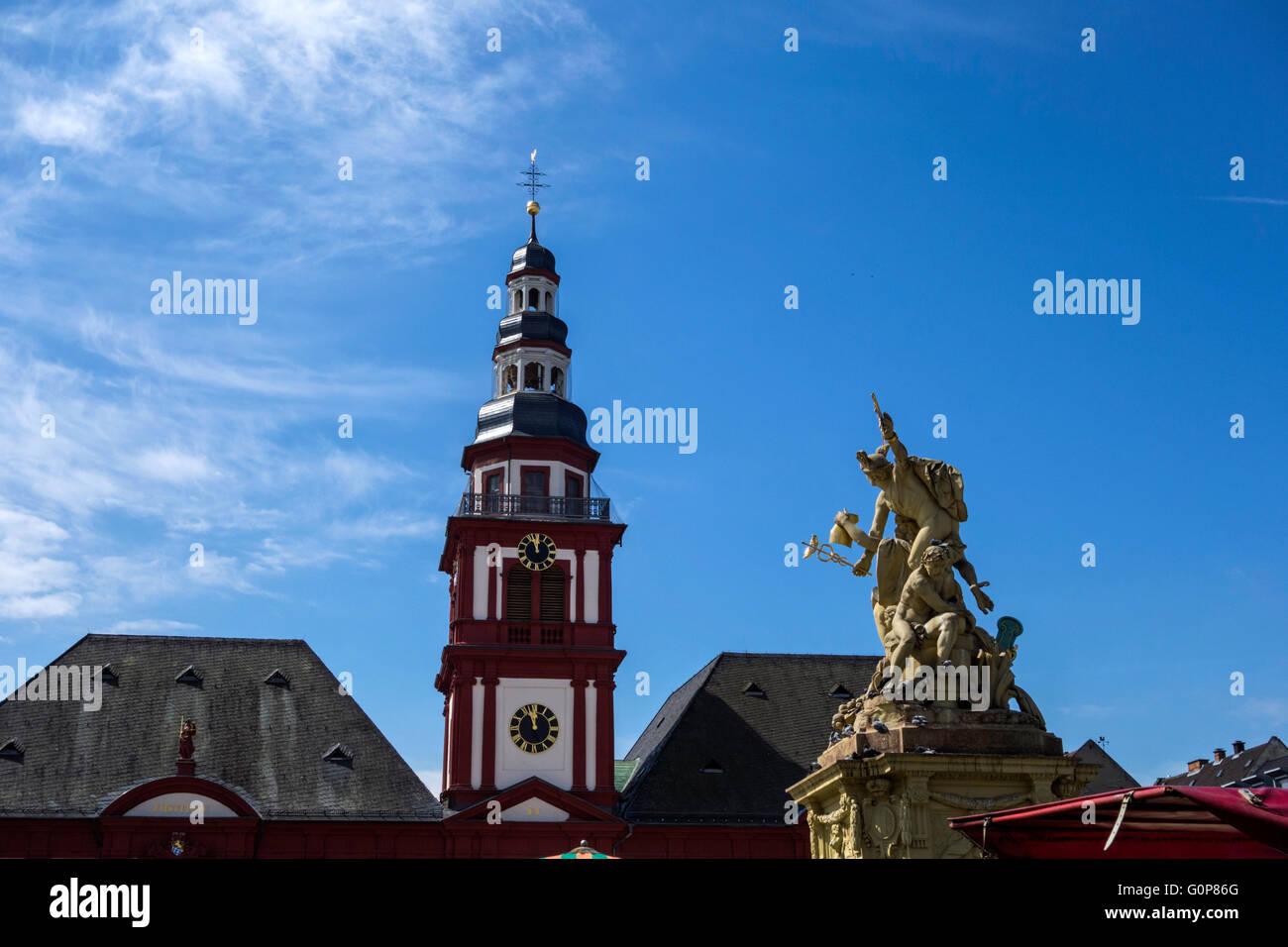 Marktplatz Mannheim - Stock Image