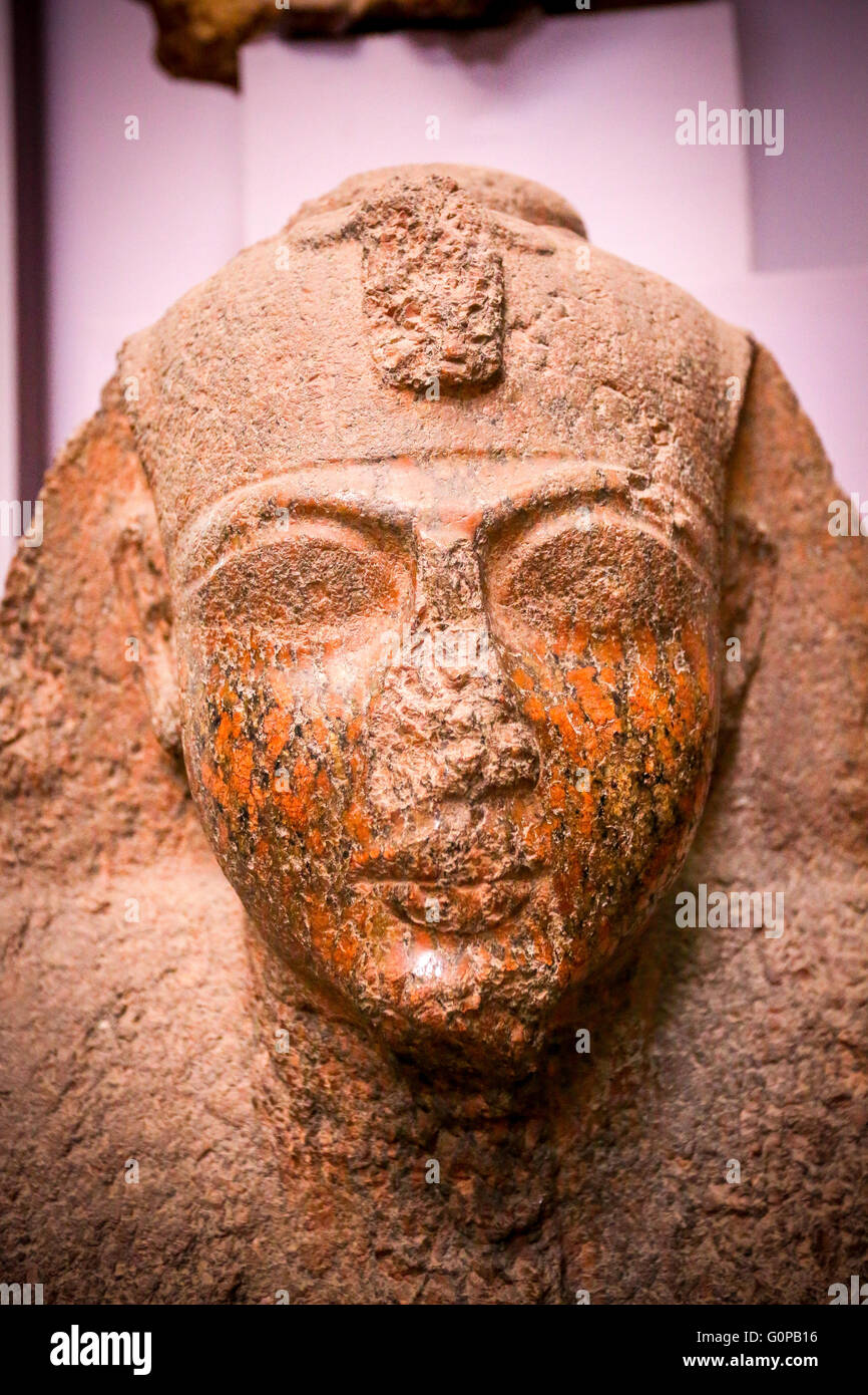 Egyptian Museum in Cairo, Egypt, Africa - Stock Image