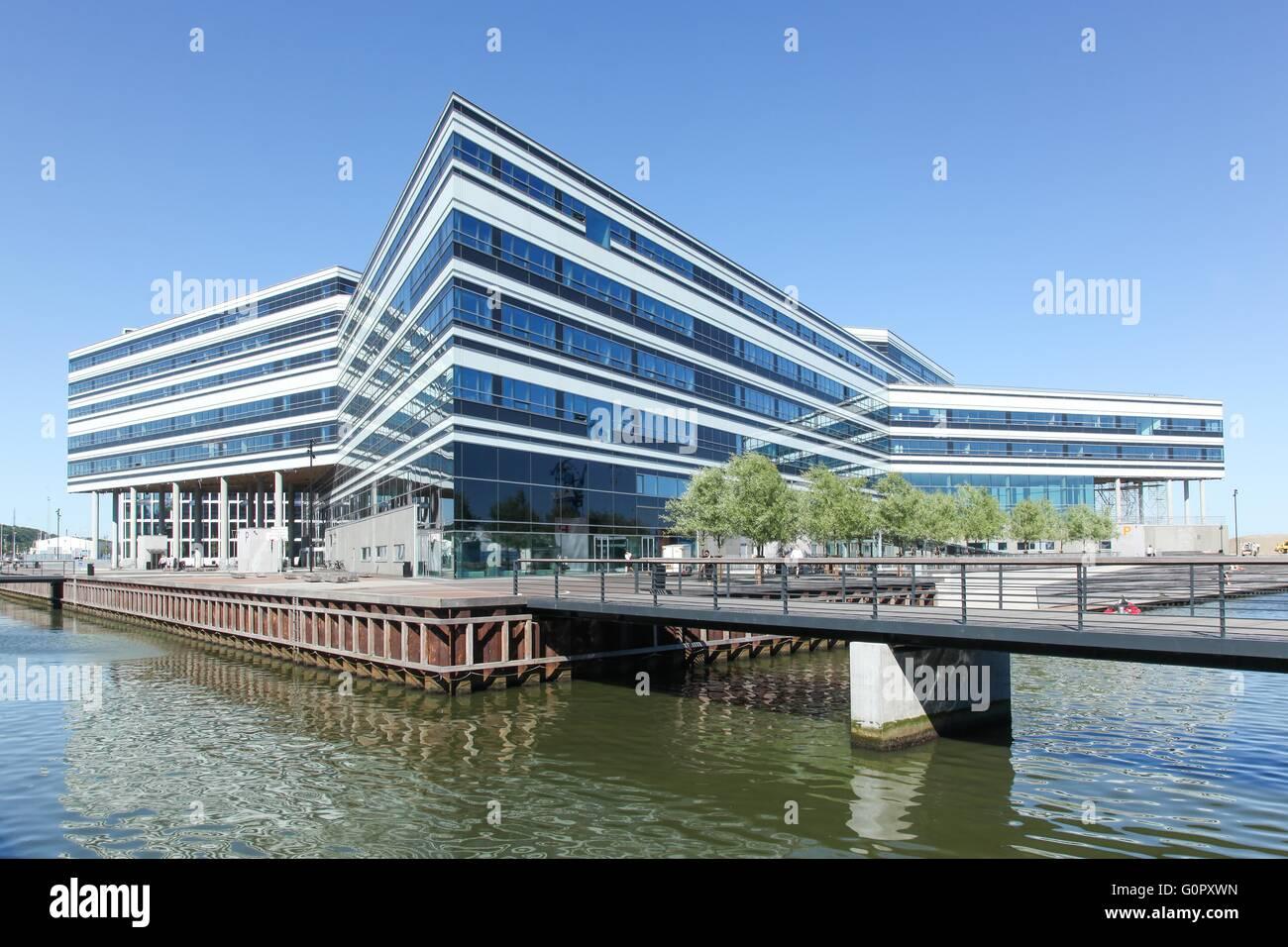 Aarhus new docklands in Denmark - Stock Image