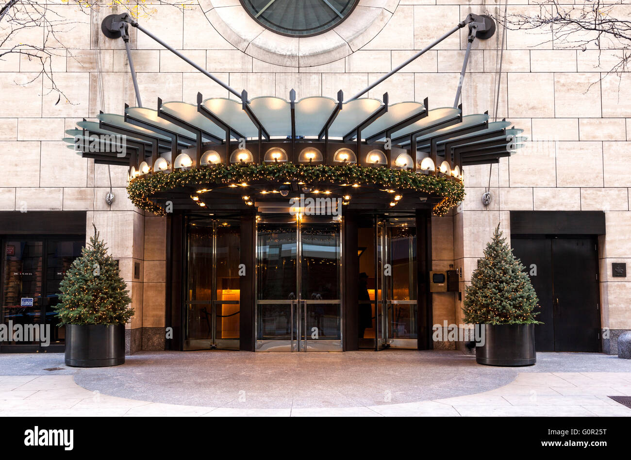Four Seasons Hotel, New York, USA - Stock Image