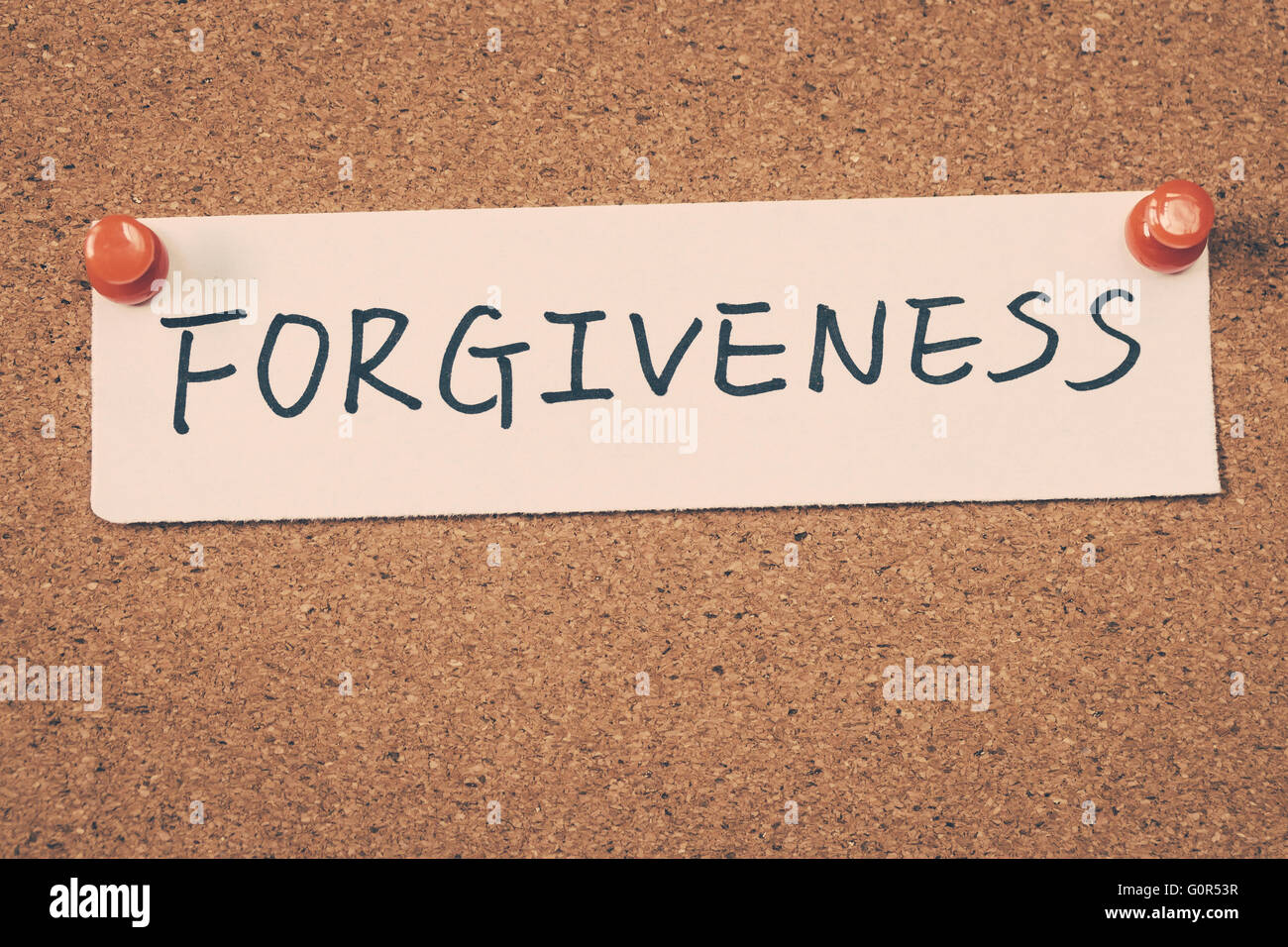 forgiveness - Stock Image