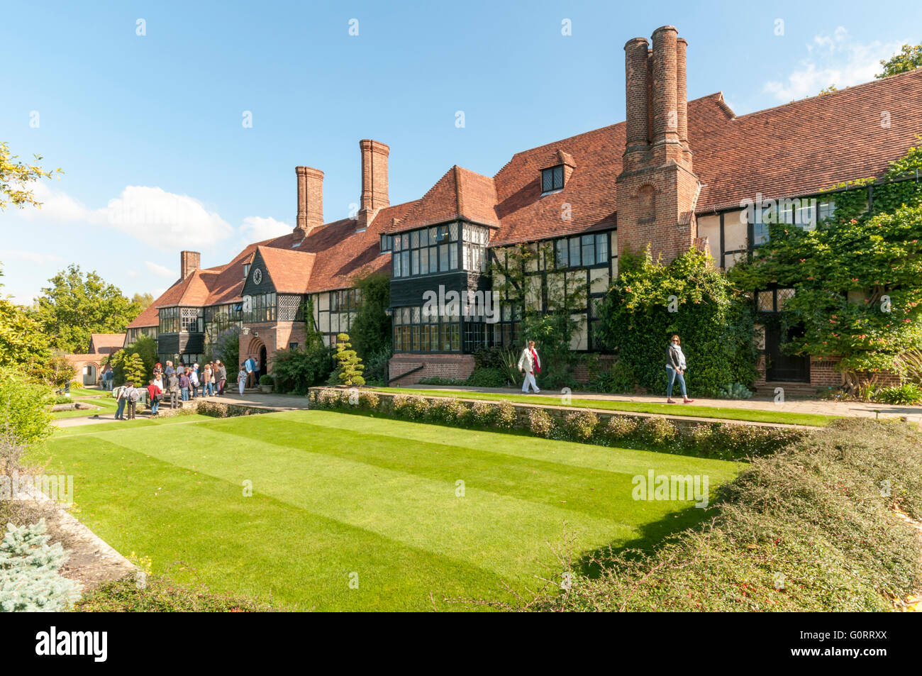 The Grade II listed laboratory at the RHS gardens at Wisley in Surrey. - Stock Image