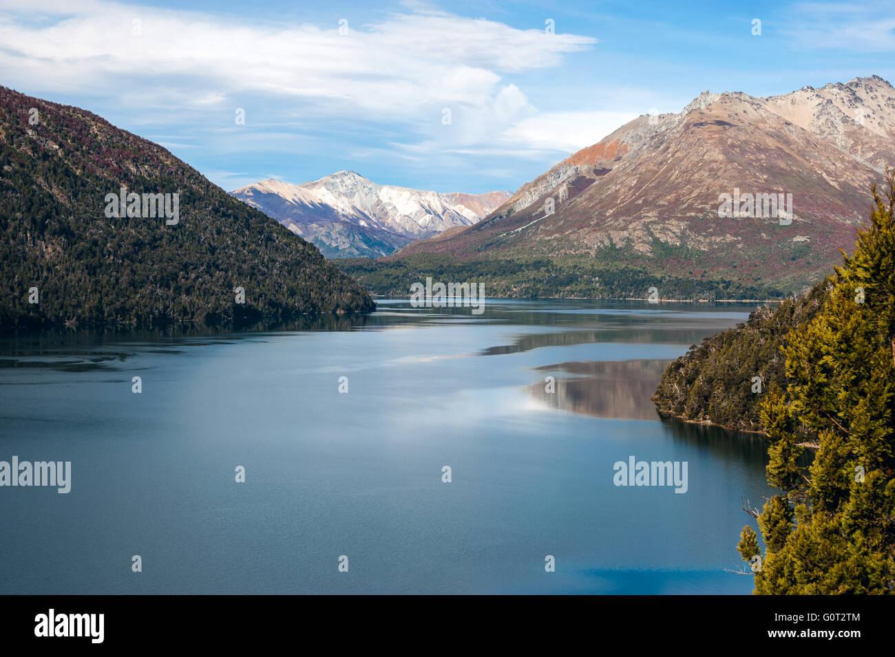 Autumn in Bariloche, Patagonia, Argentina - Stock Image