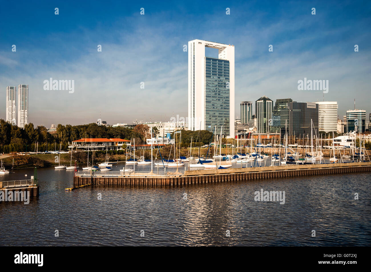 Puerto Madero, Buenos Aires, Argentina - Stock Image
