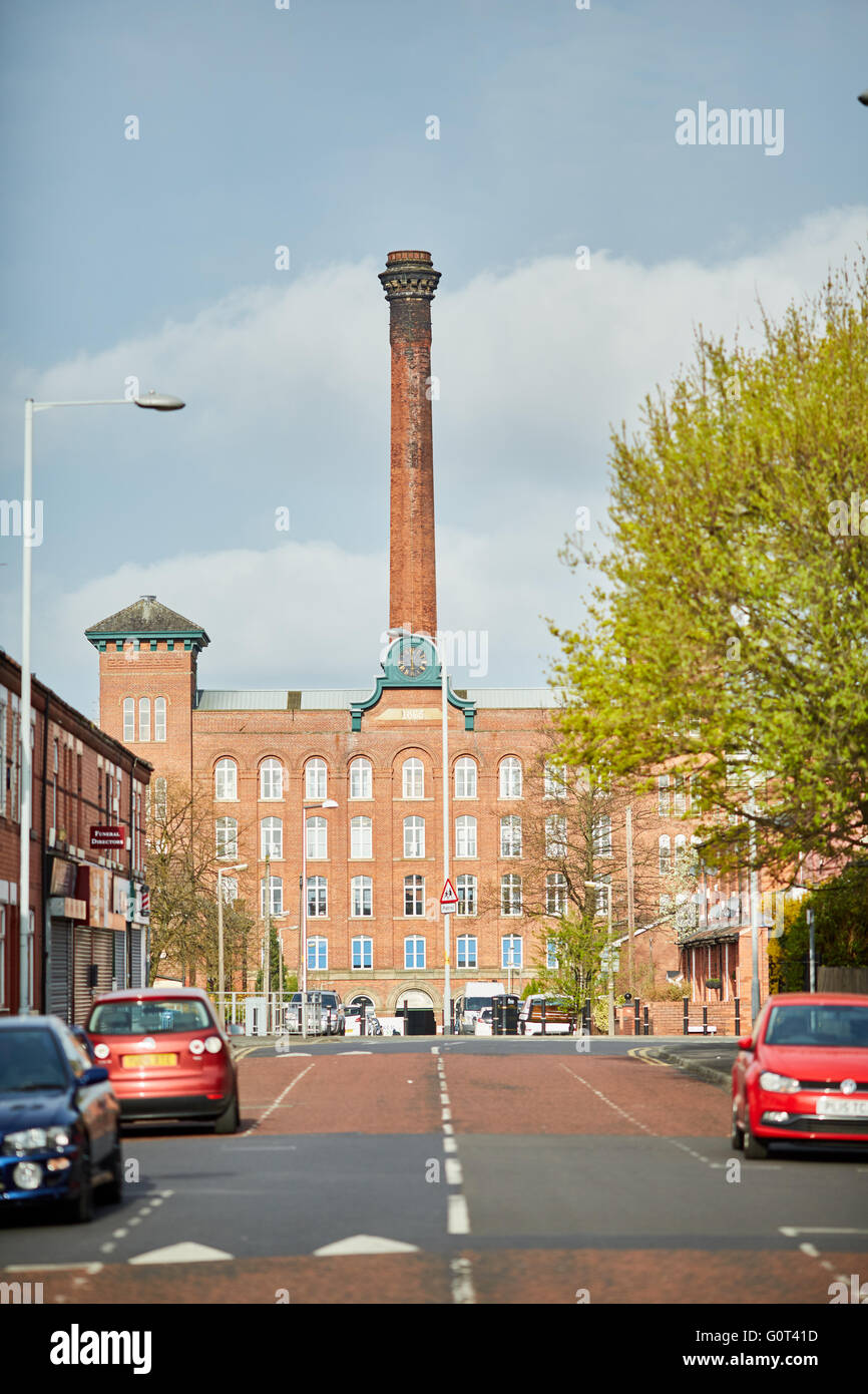 Manchester stockport reddish houldsworth mill   Houldsworth Mill, also known as Reddish Mill, is a former mill in - Stock Image