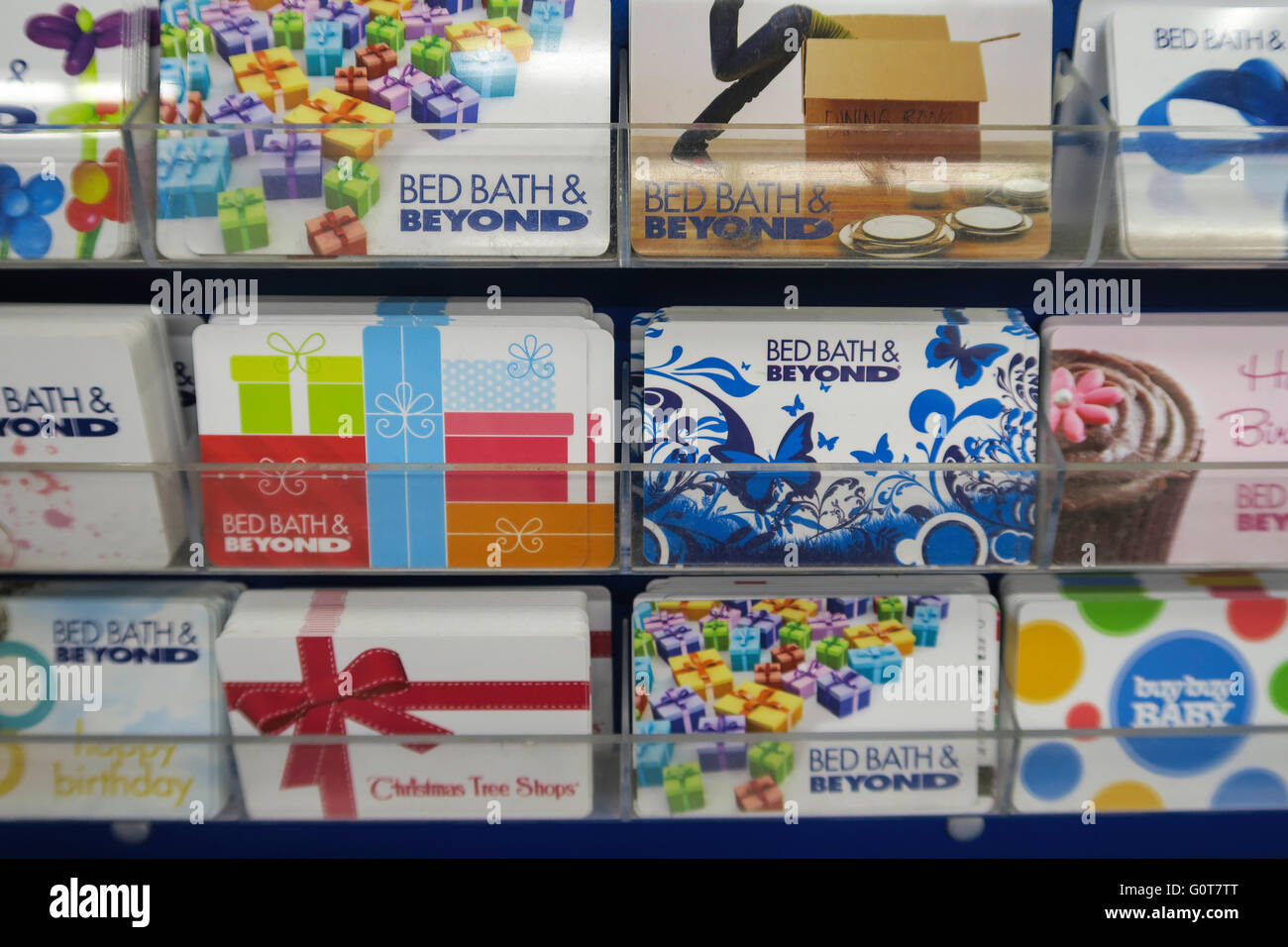 bed bath and beyond prepaid gift cards display usa