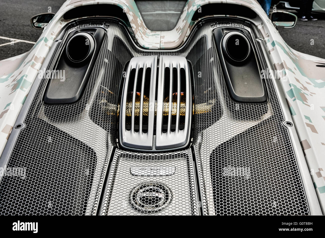 Ion Engine Stock Photos Images Alamy Porsche 918 Spyder Diagram Plug In Hybrid Hypercar 887 Hp 652 Kw
