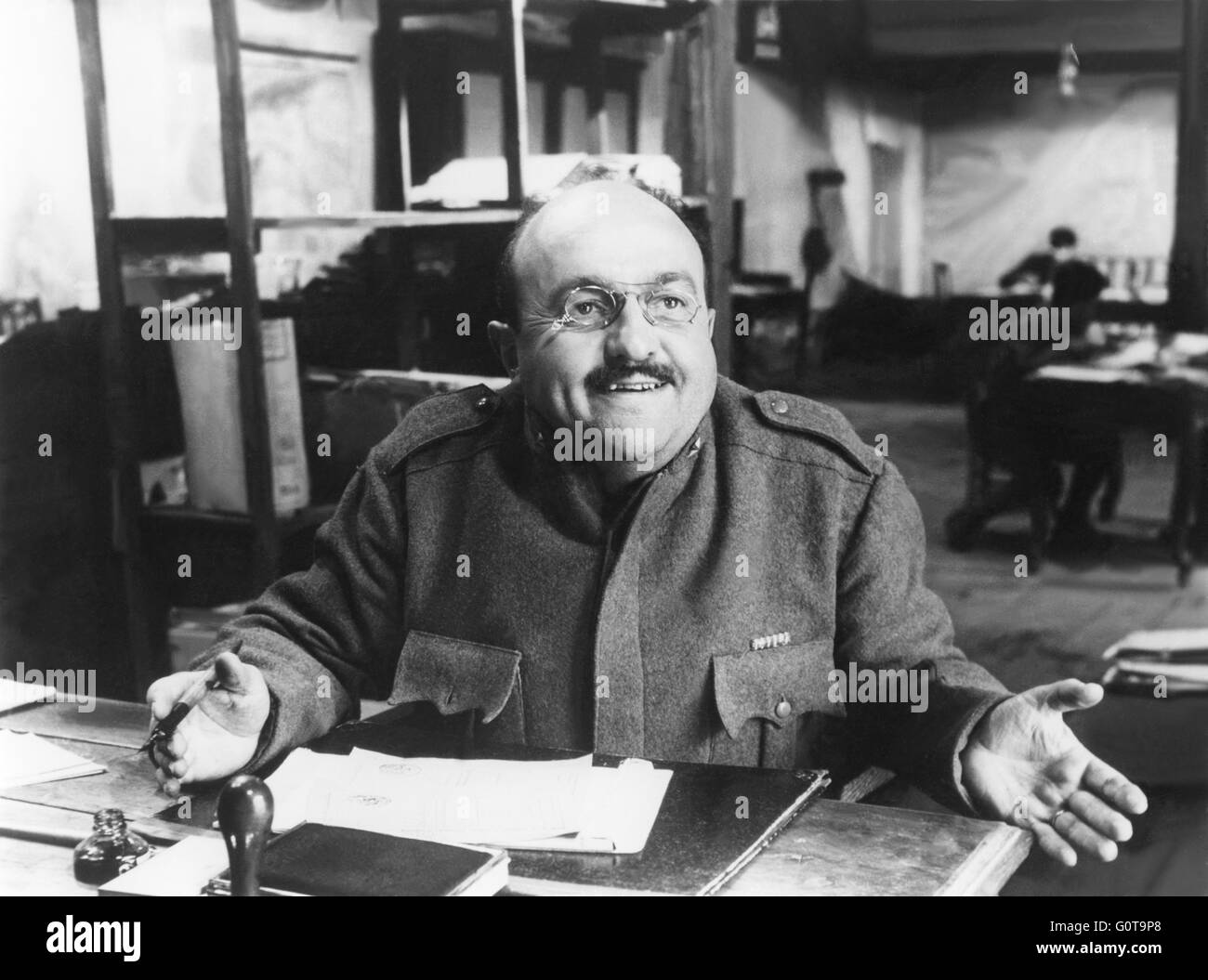 Bernard Blier / The Great War / 1959 directed by Mario Monicelli (Cinematografica / Gray-Film) - Stock Image