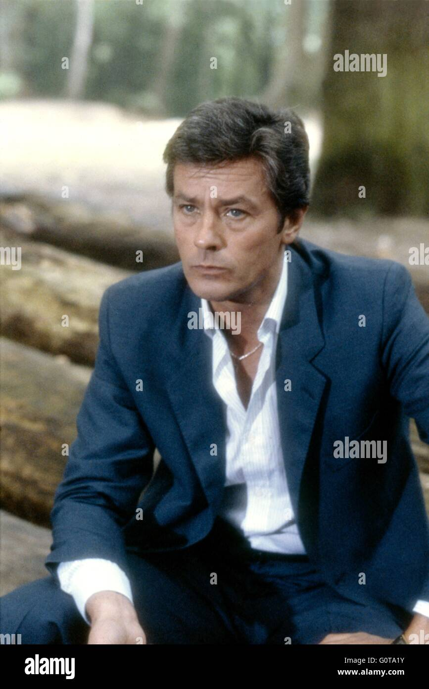 film le battant alain delon