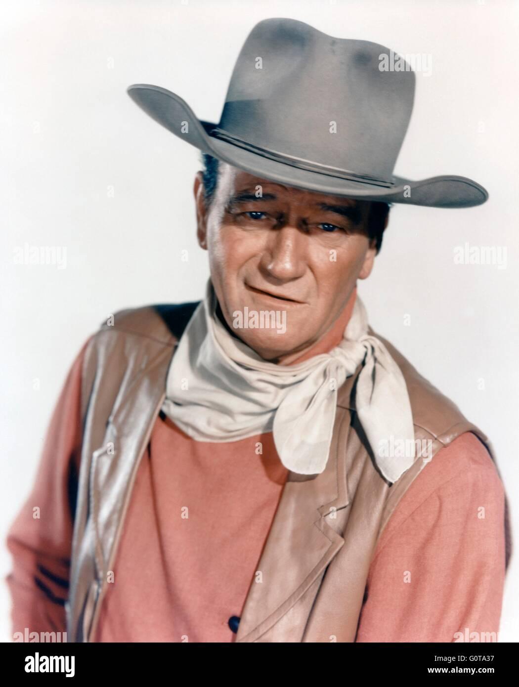 John Wayne  / McLINTOCK ! / 1963 directed byAndrew V. McLaglen [United Artists] - Stock Image