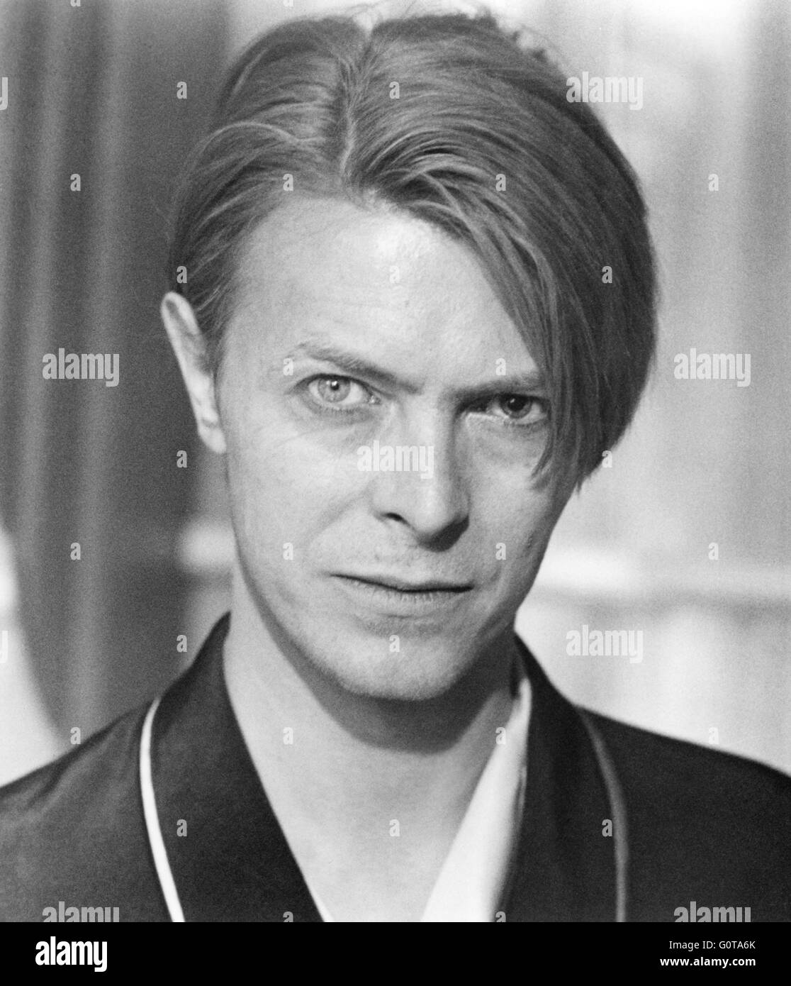 David Bowie in The Hunger directed by Tony Scott (1983) - Stock Image