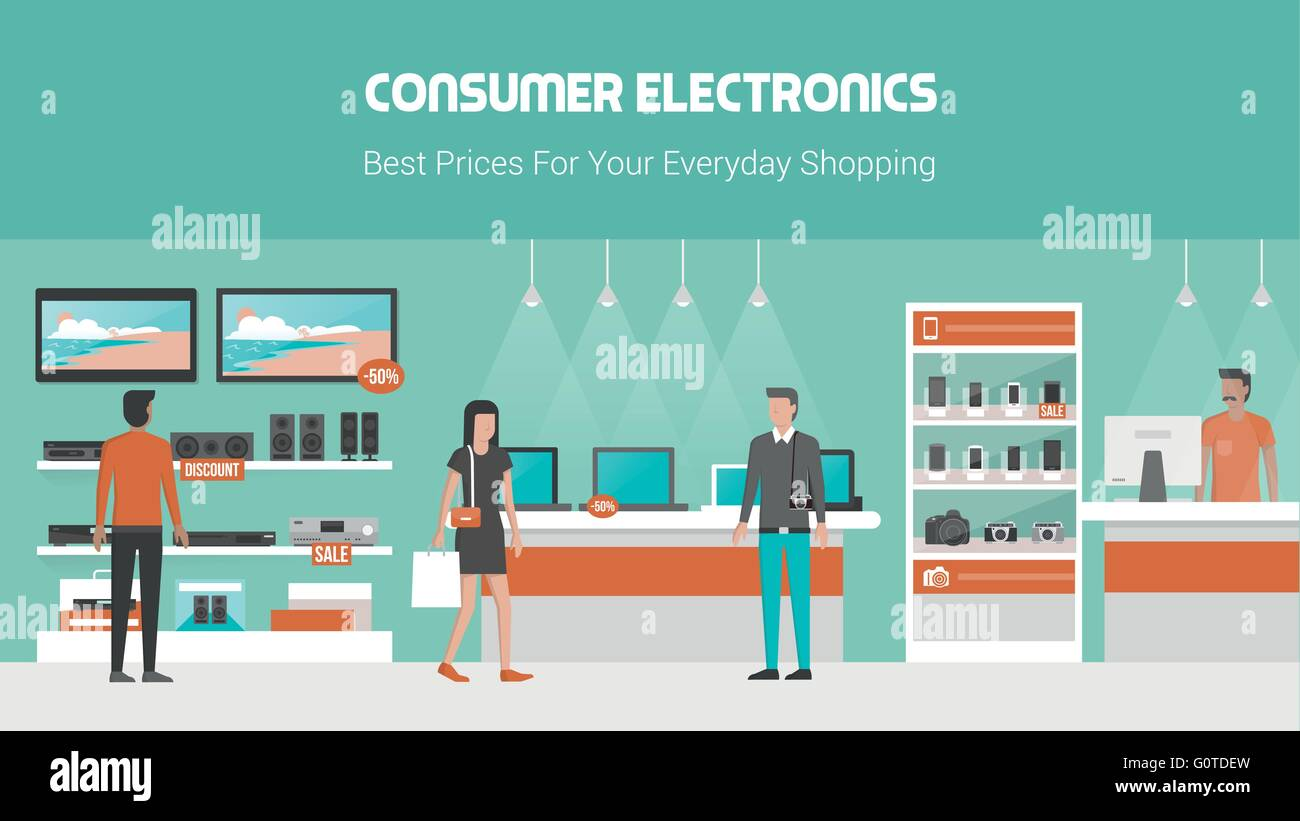 Home Appliance Store Banner High Resolution Stock Photography And Images Alamy