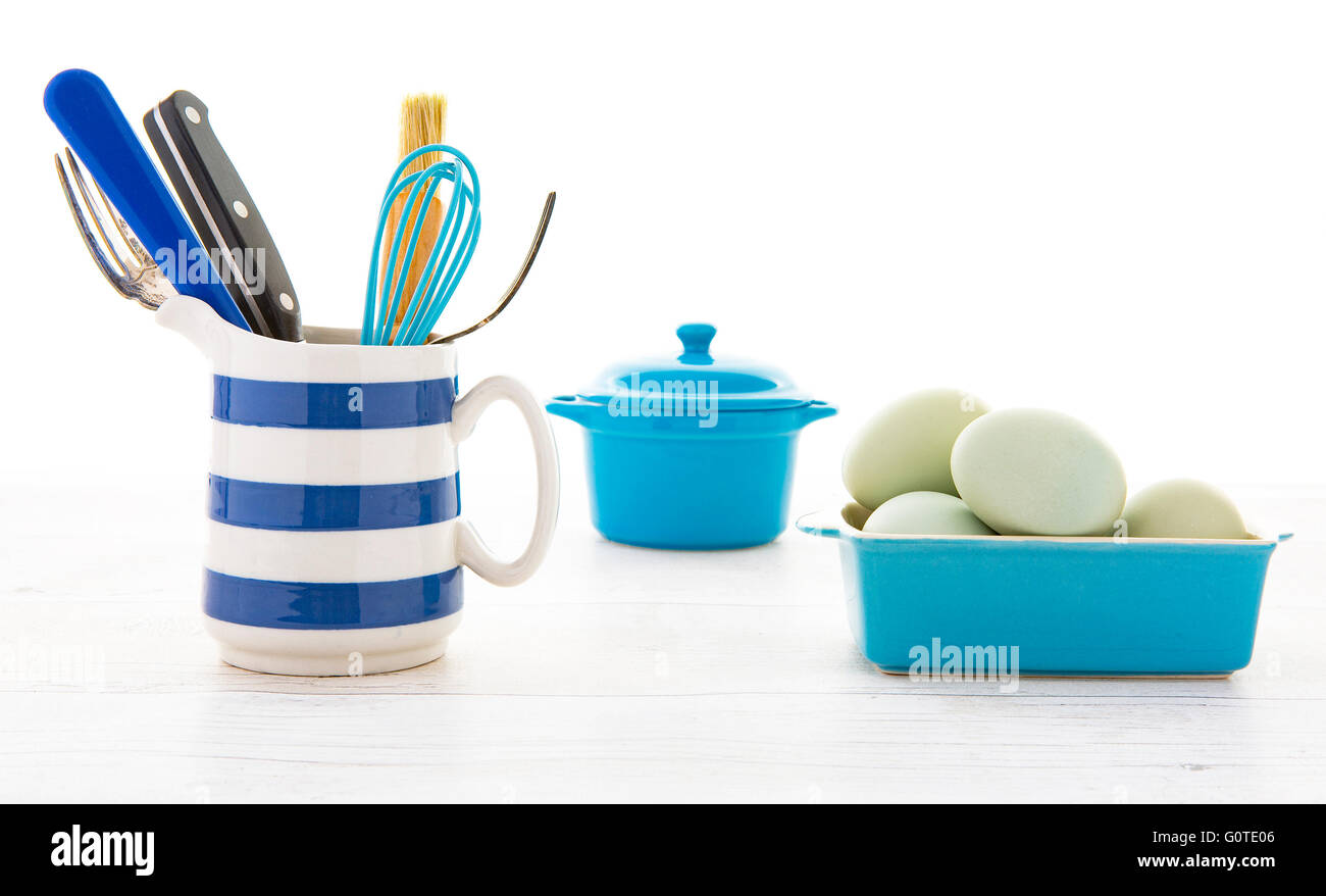 Kitchen Utensils Wooden Kitchenware Stock Photos & Kitchen Utensils ...
