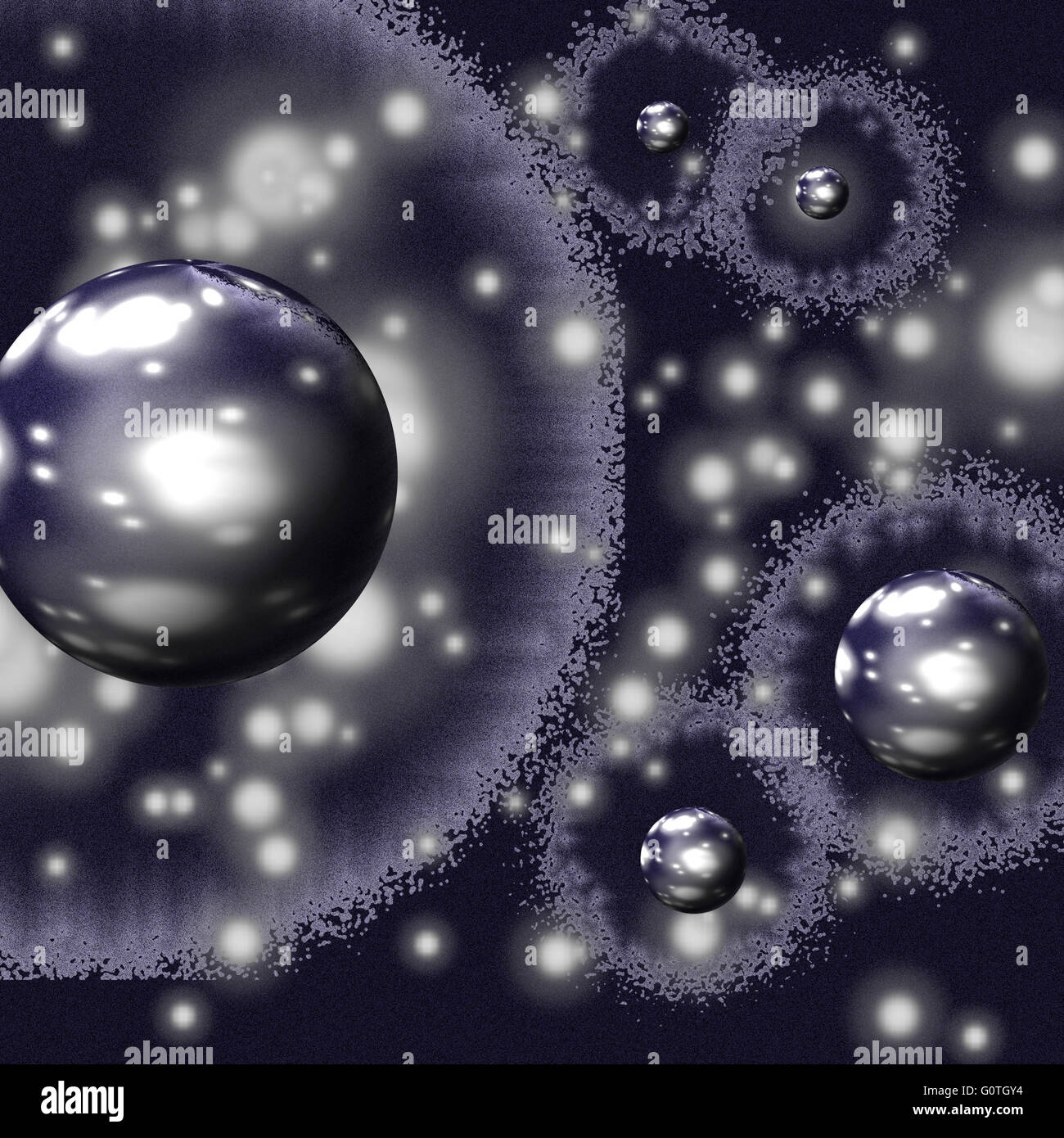 Multiverse Theory - Stock Image