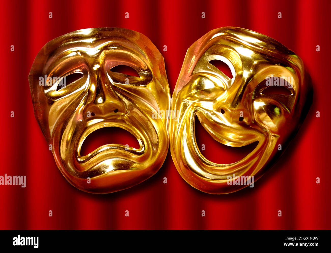 theatre masks comedy tragedy stock photos theatre masks comedy