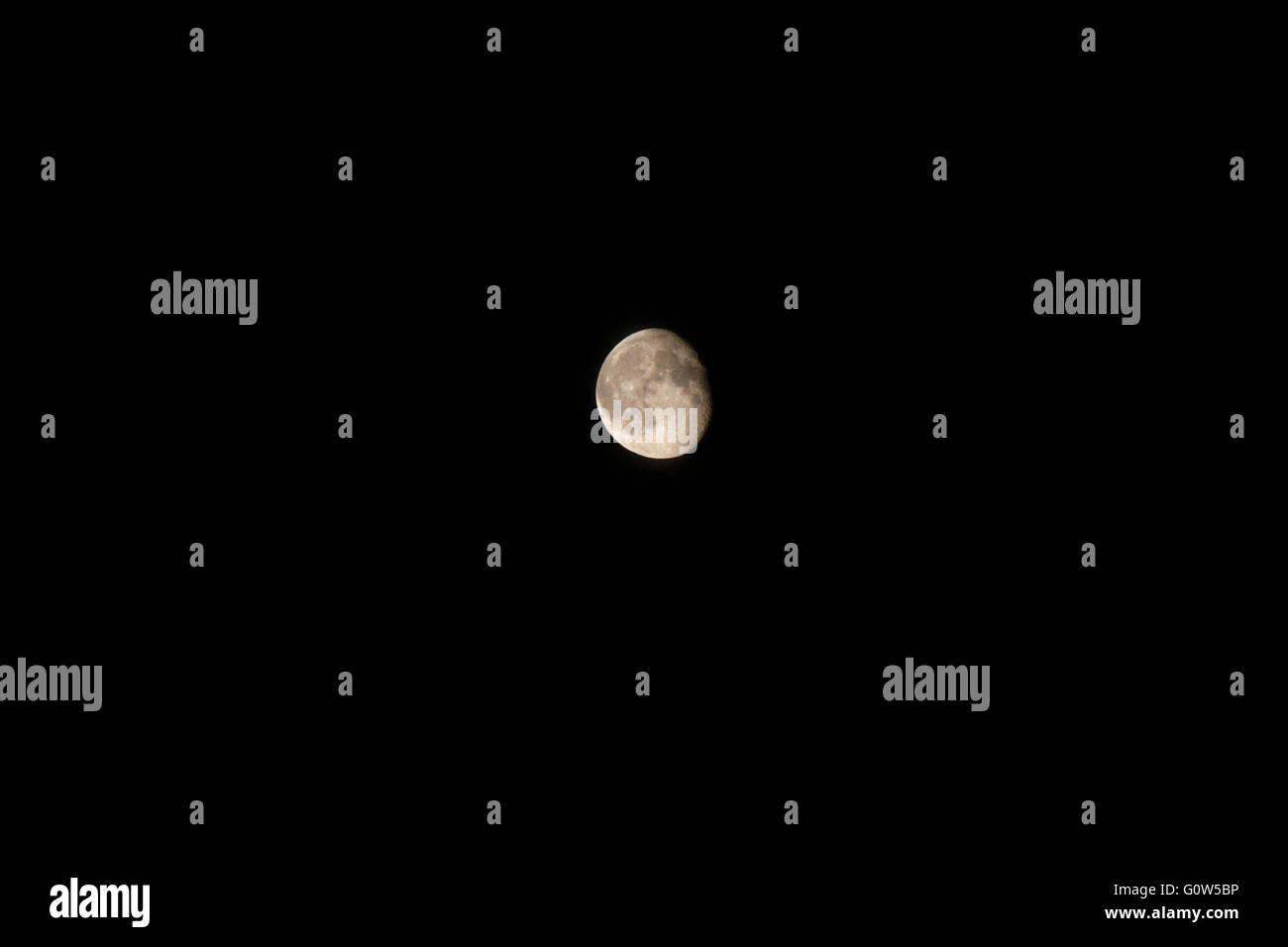 Mond moon. - Stock Image