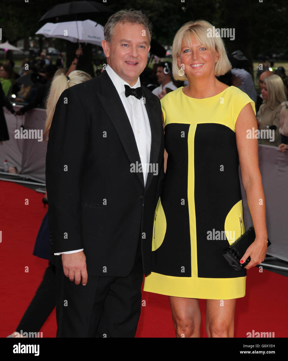 London, UK, 11th Aug 2015: Hugh Bonneville attends the BAFTA tribute to Downton Abbey in London - Stock Image