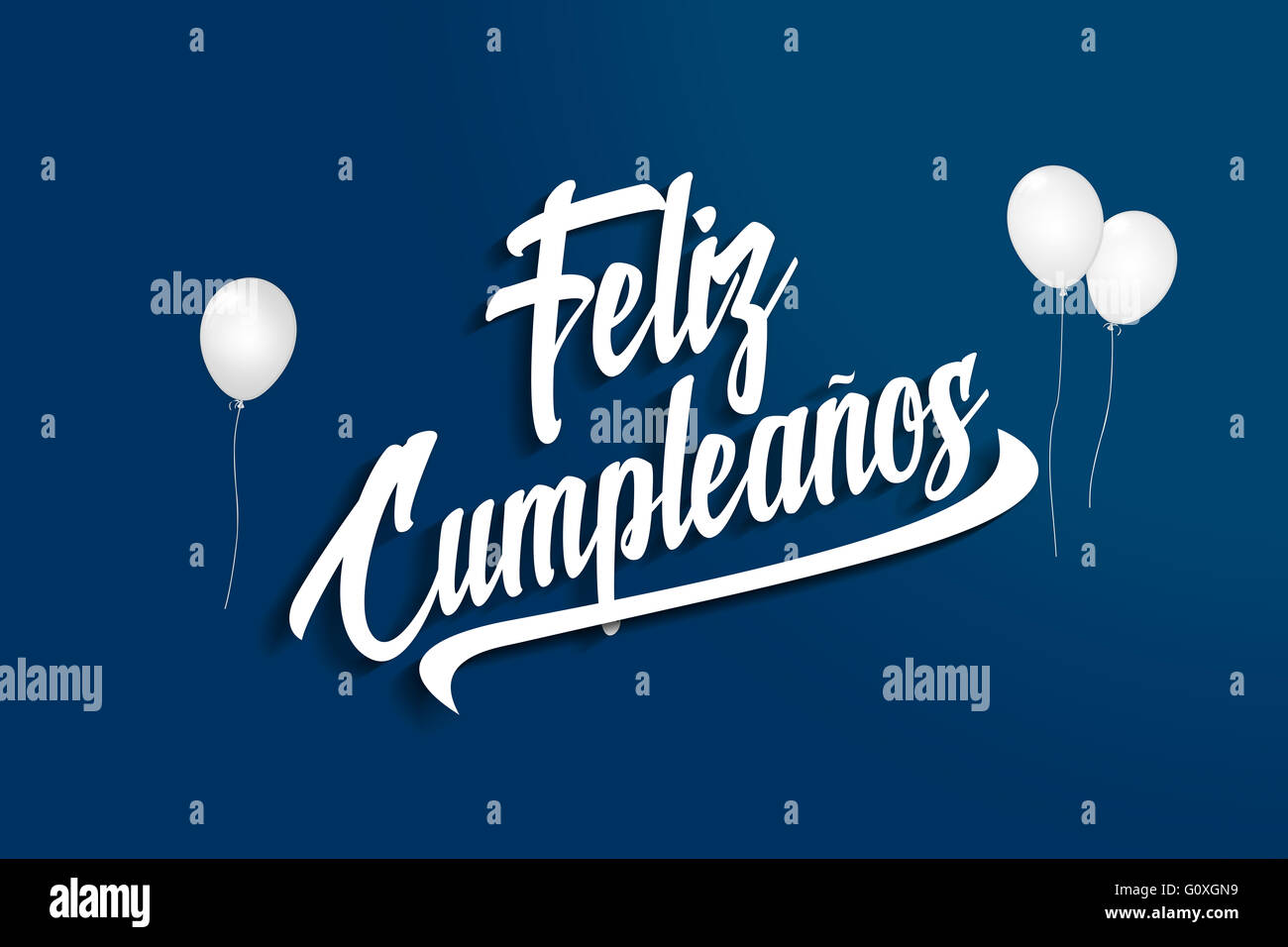 Feliz Cumpleanos Happy Birthday In Stock Photos Feliz Cumpleanos