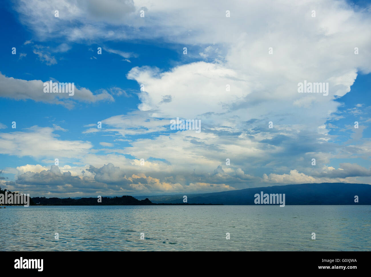 Poso lake. Central Sulawesi. Indonesia - Stock Image