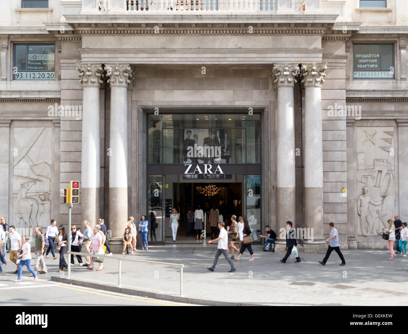 Zara Barcelona Stock Photos   Zara Barcelona Stock Images - Alamy fcf4f7225ec