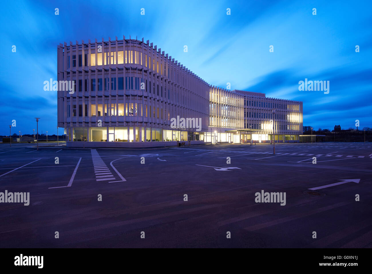 The House of Disabled People's Organisations, Taastrup, Denmark, the headquarters of a charity dedicated to - Stock Image