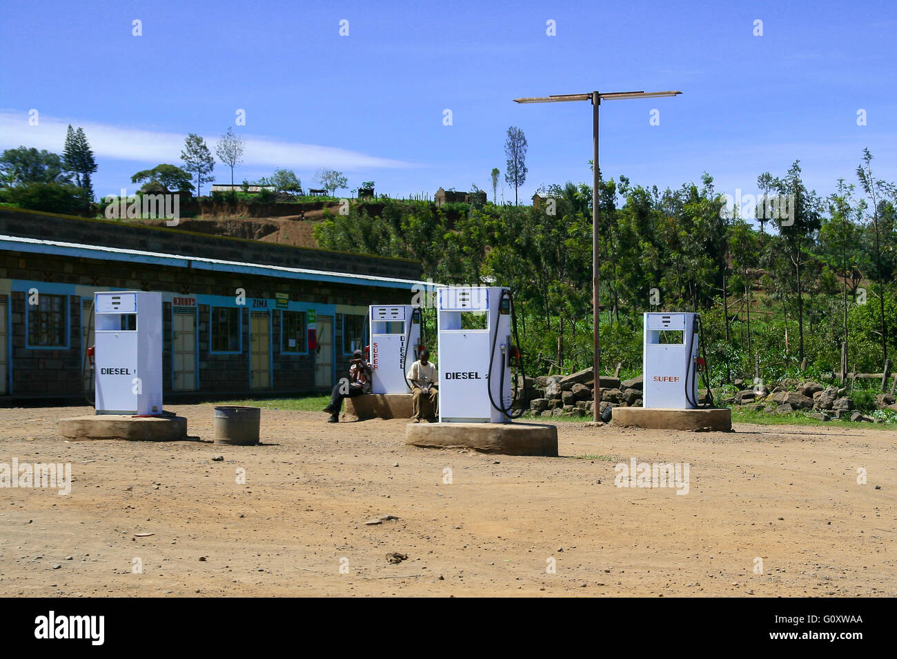 Petrol Pump Africa Stock Photos & Petrol Pump Africa Stock
