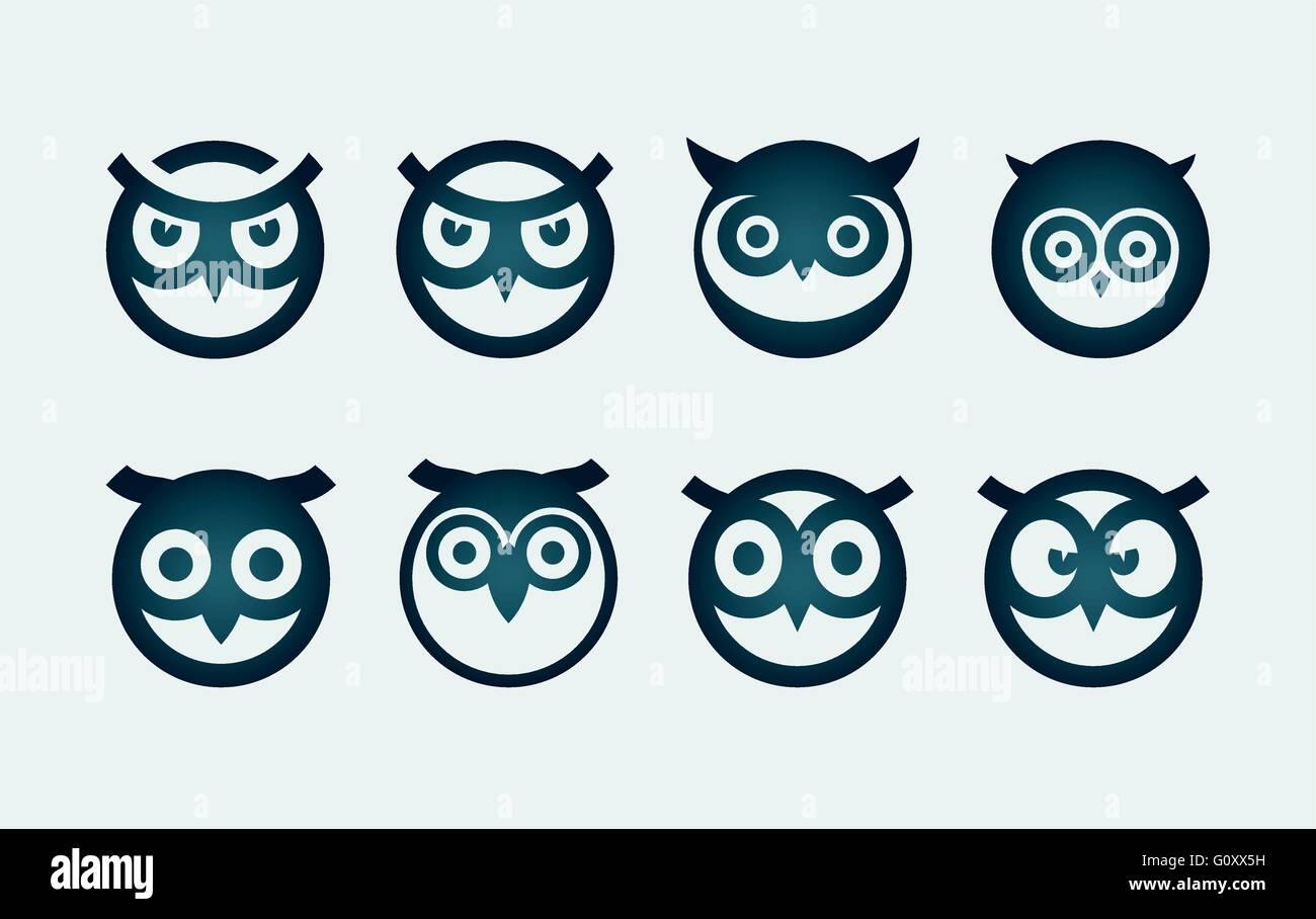 Owl Symbol Stock Photos & Owl Symbol Stock Images - Alamy