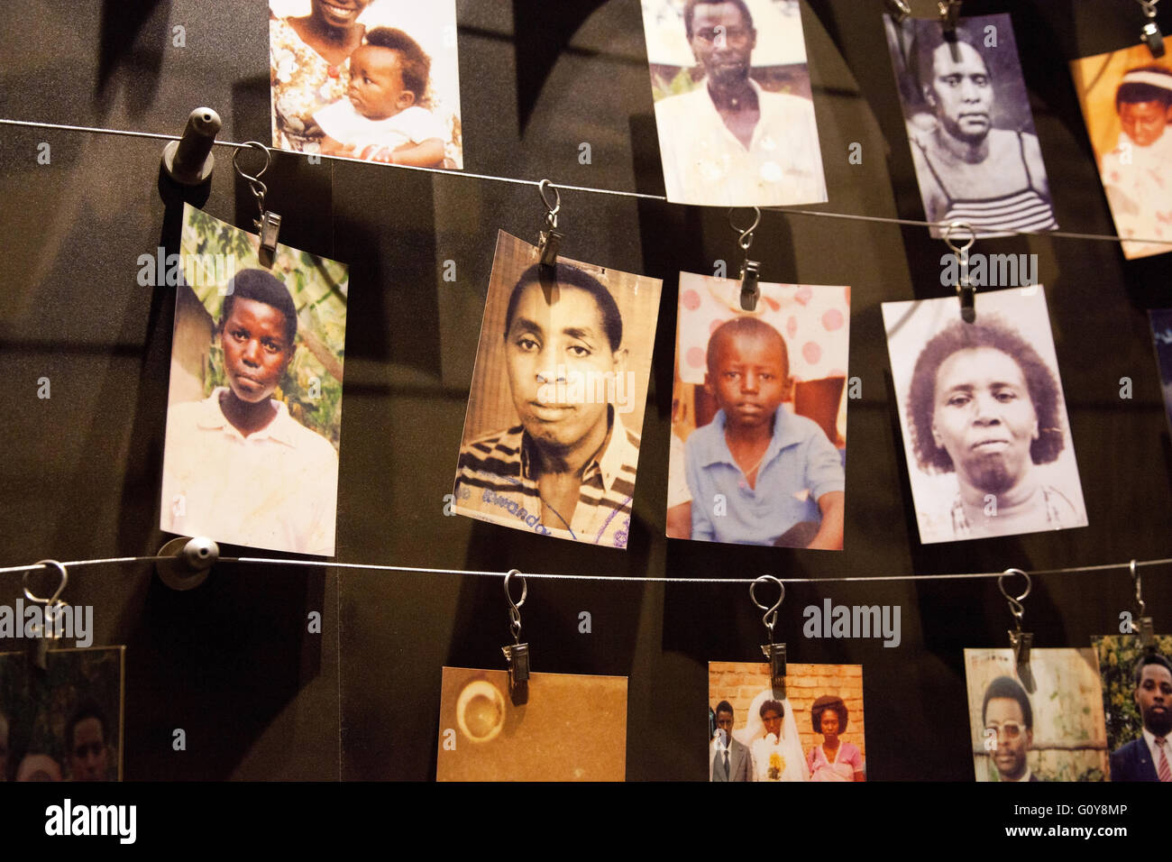 Photograph by © Jamie Callister. The Rwandan Genocide Memorial Museum, Kigali, Rwanda, Central Africa, 7th - Stock Image