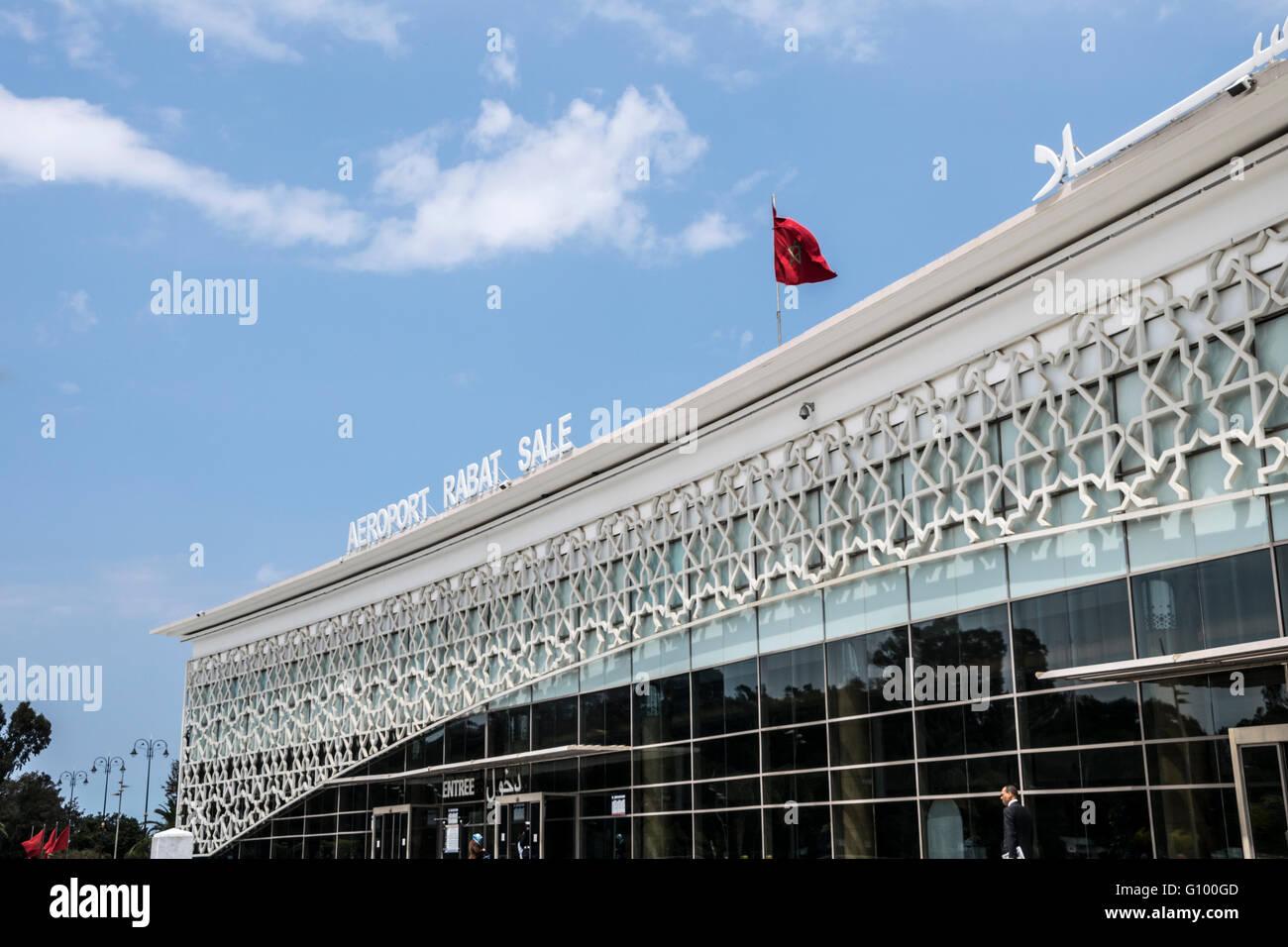 Rabat Sale Airport, Morocco Stock Photo