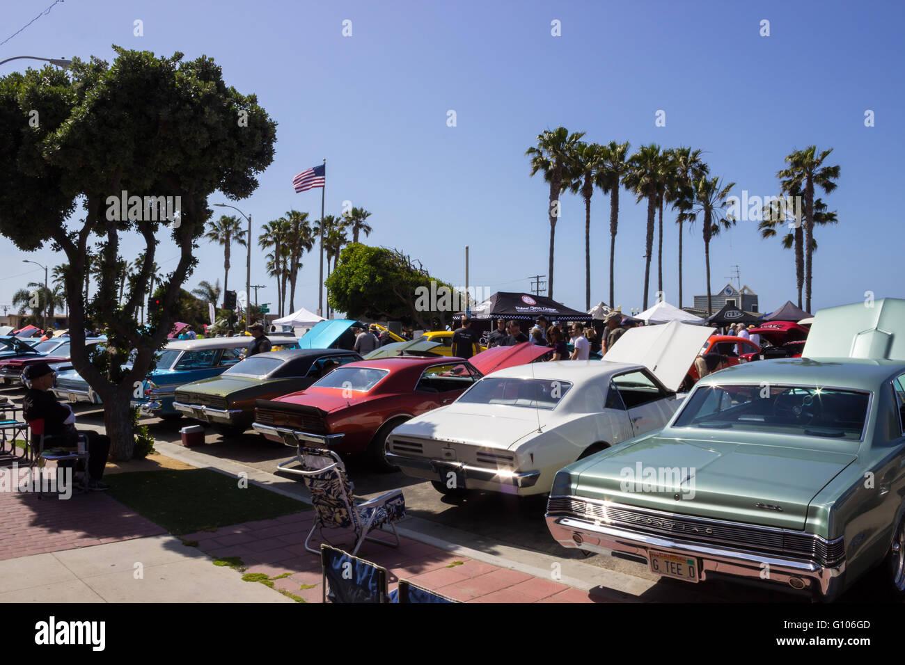 Seal Beach Orange County California Stock Photos Seal Beach Orange - Seal beach car show