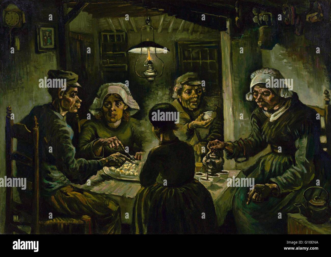 Vincent Van Gogh The Potato Eaters