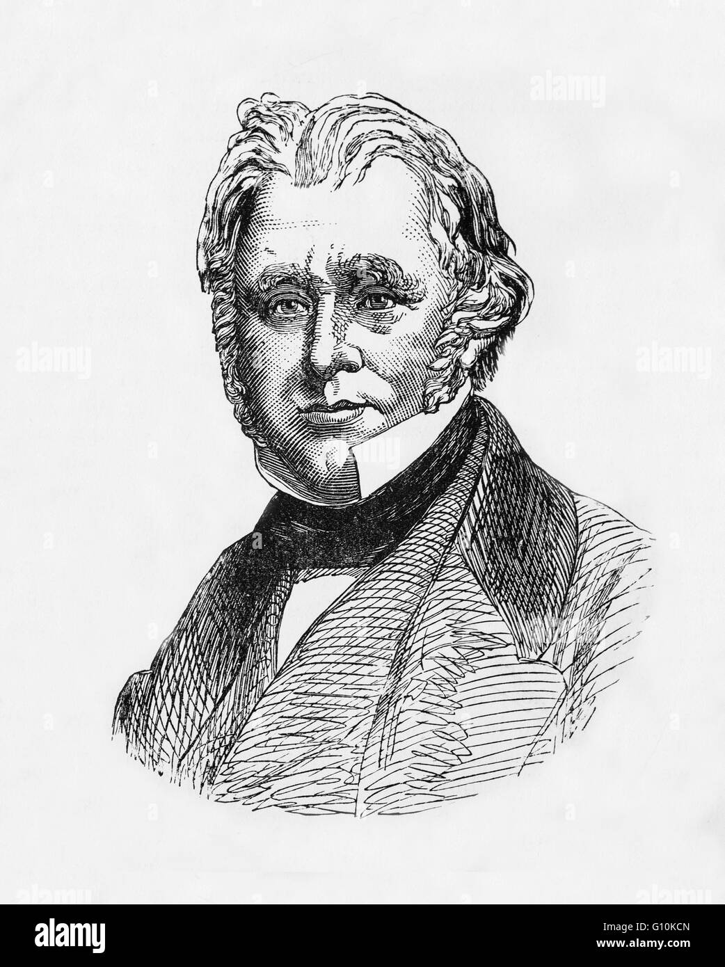 Thomas Babington  Macaulay,(1800 – 1859)  son of a Scottish Highlander,  who became a colonial governor and abolitionist. - Stock Image