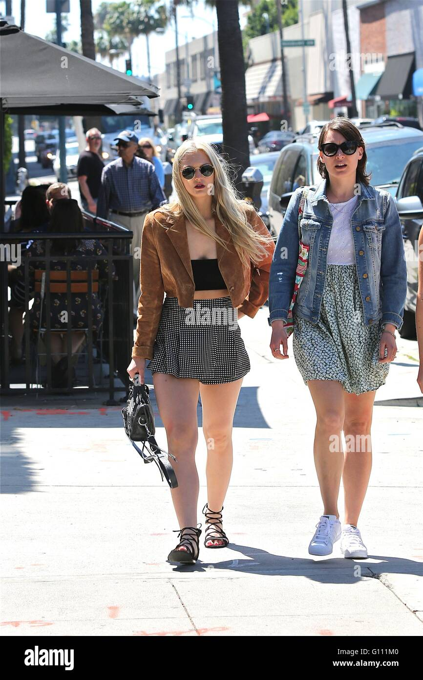 60d01efae17 Maude Hirst enjoys Beverly Hills with friends as she enjoys the Los Angeles  Sunshine Featuring  Maude Hirst Where  Los Angeles