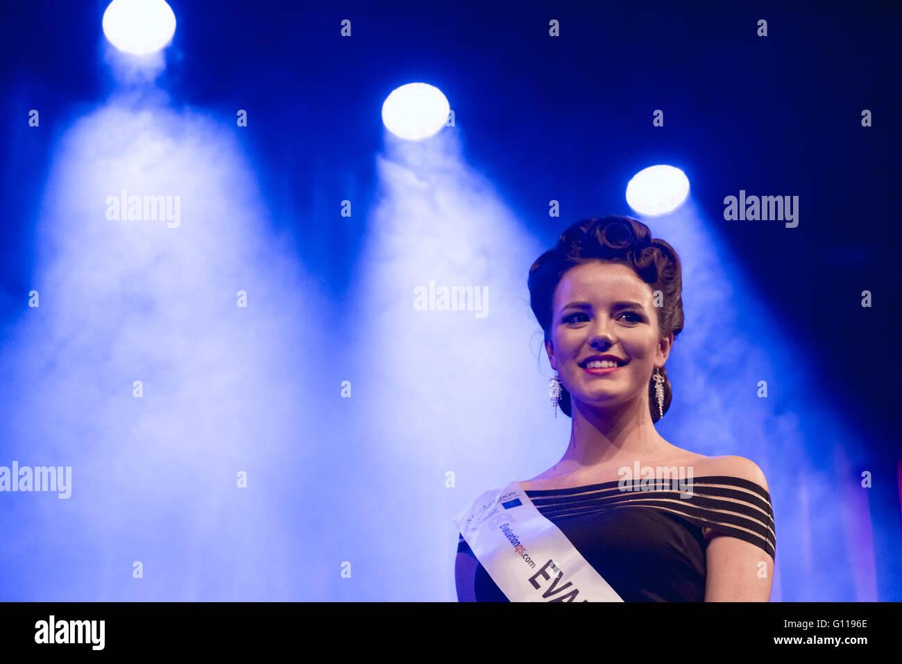 London, UK. 6th May, 2016. Miss London 2016 Finale Credit:  Guy Corbishley/Alamy Live News - Stock Image