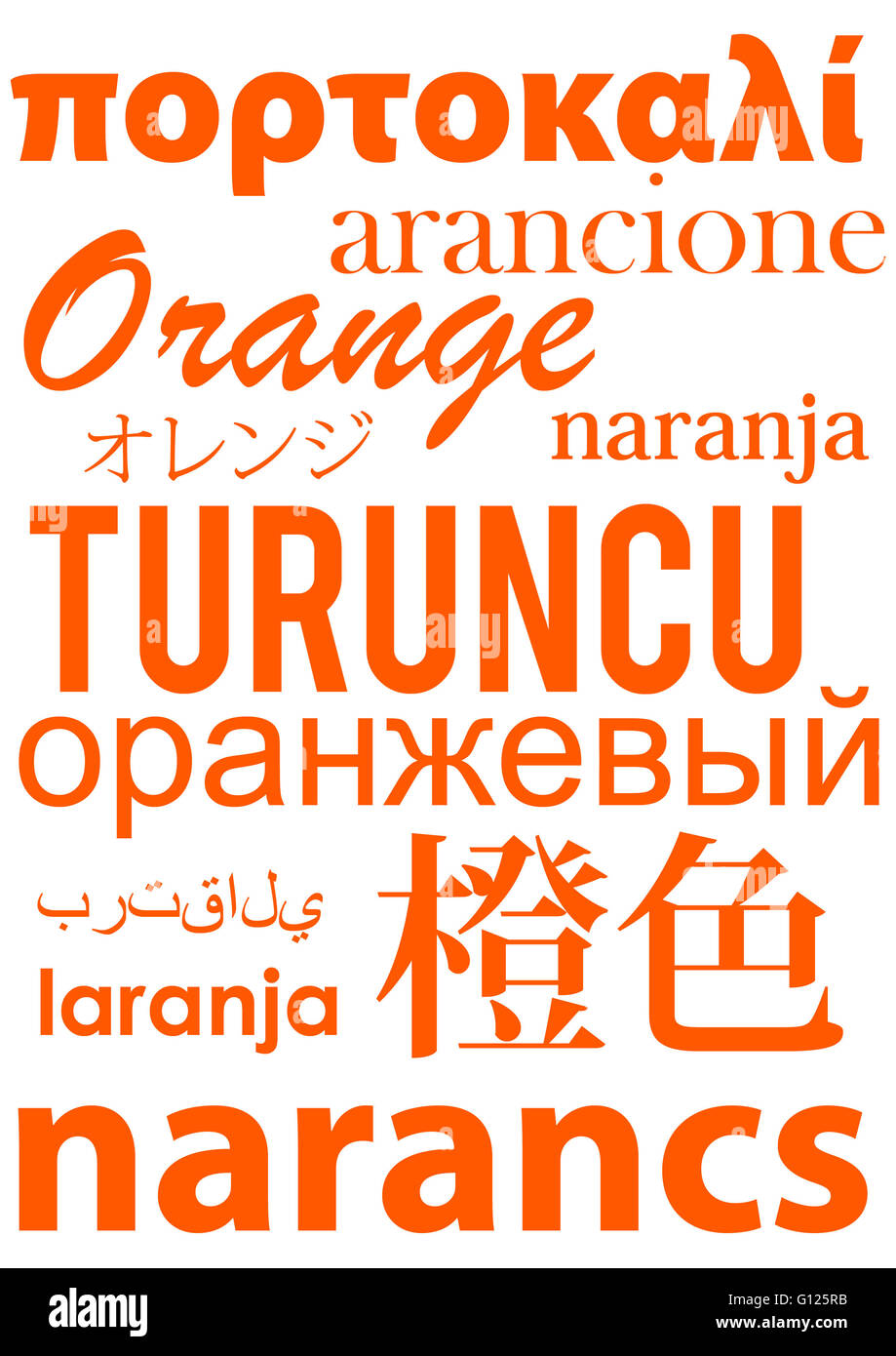 Different Languages Cut Out Stock Images Pictures Alamy