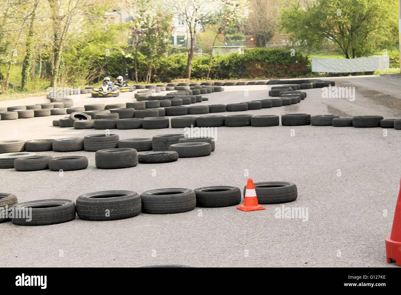 Go-kart track Stock Photo: 103926802 - Alamy