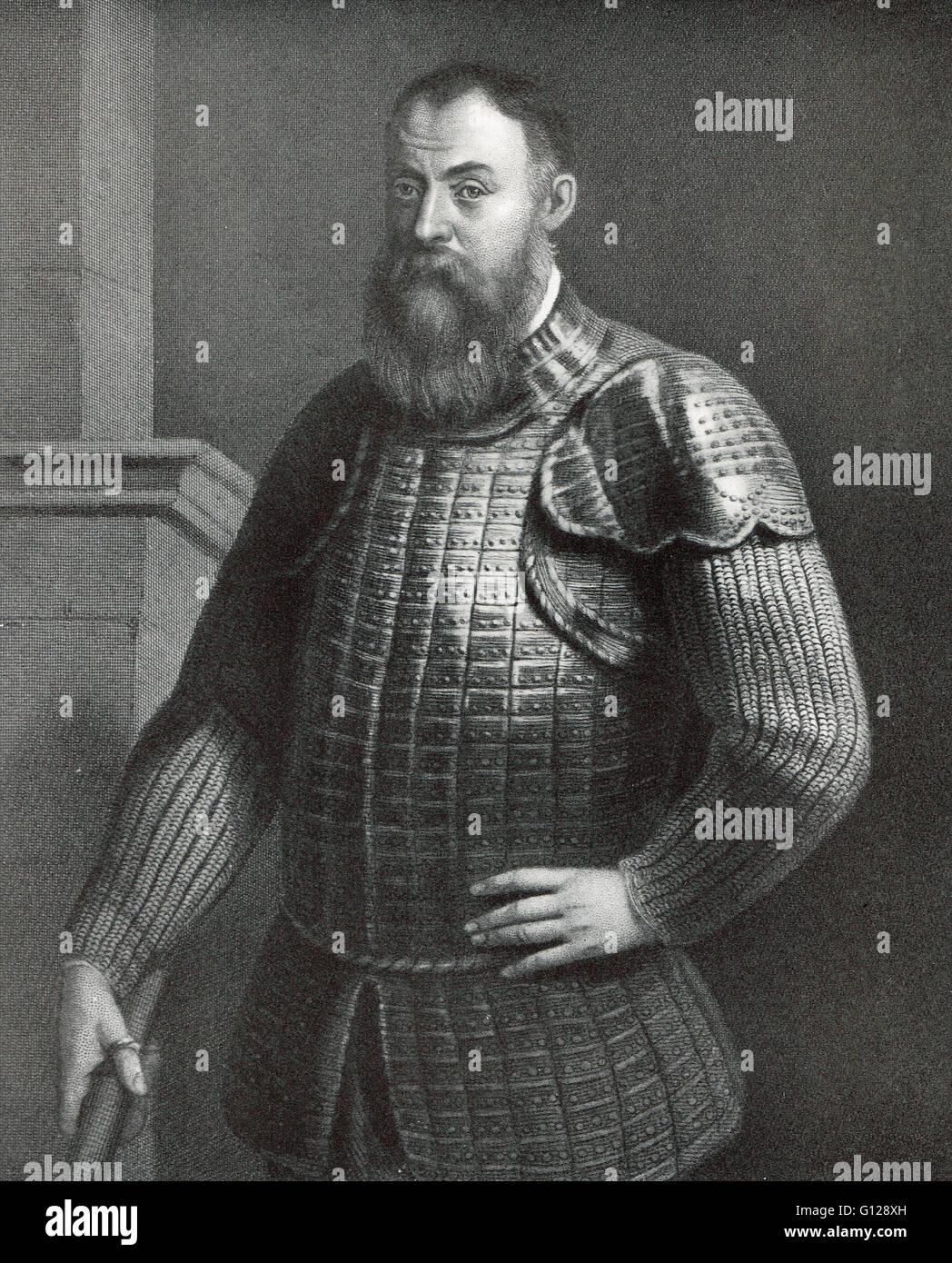 Hugh O'Neill, Earl of Tyrone (1550-1616) - Stock Image