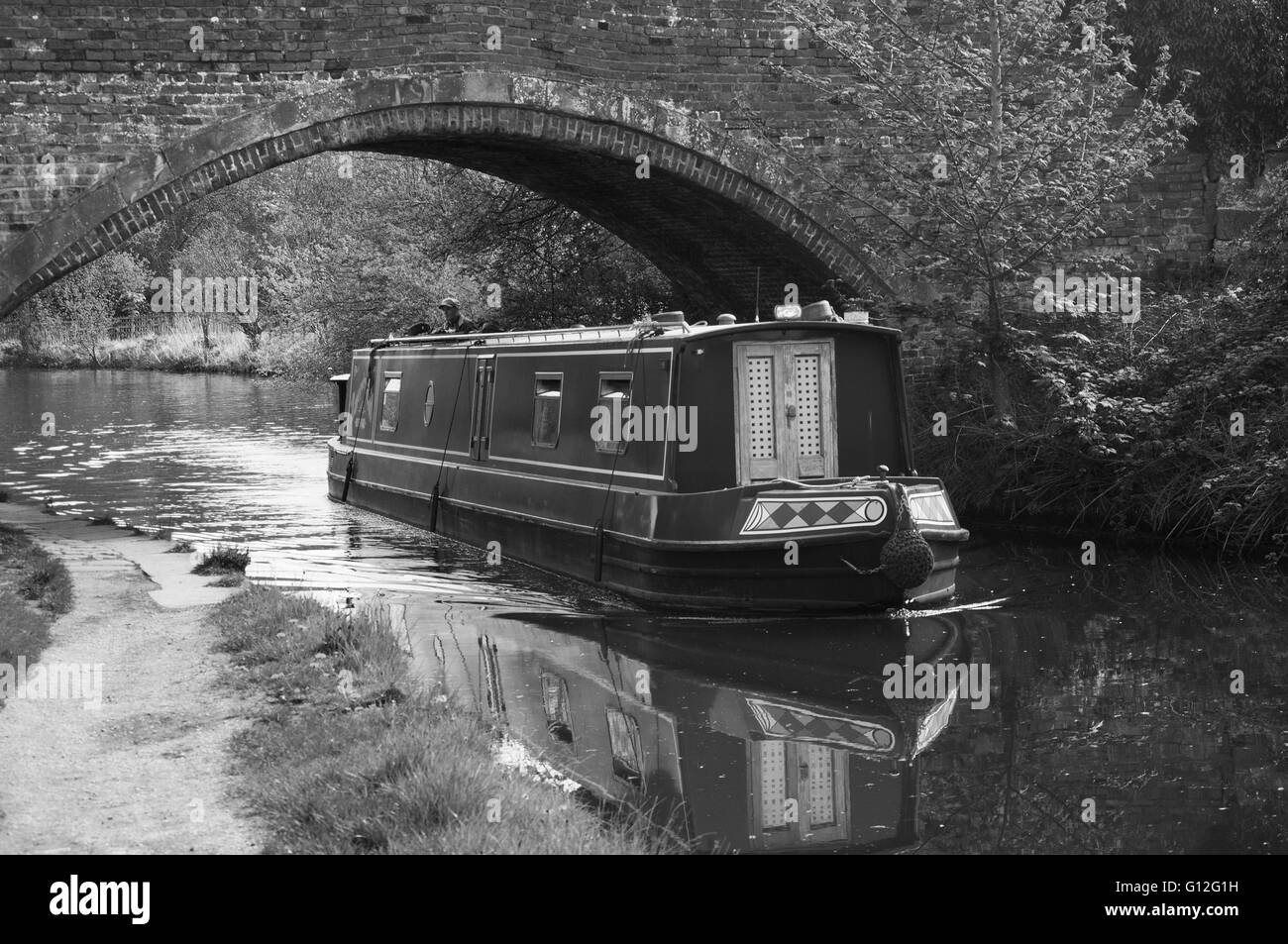 Canal boats - Stock Image