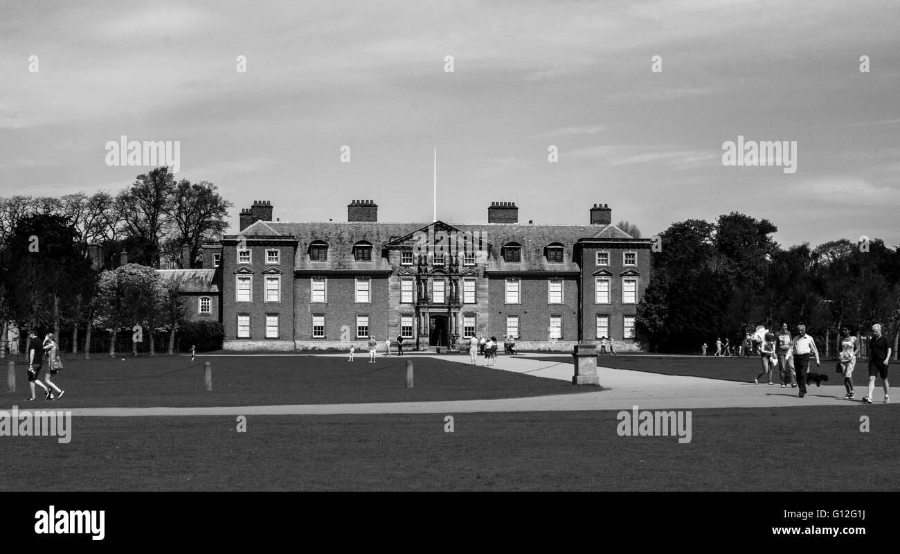 Dunham Massey Hall - Stock Image