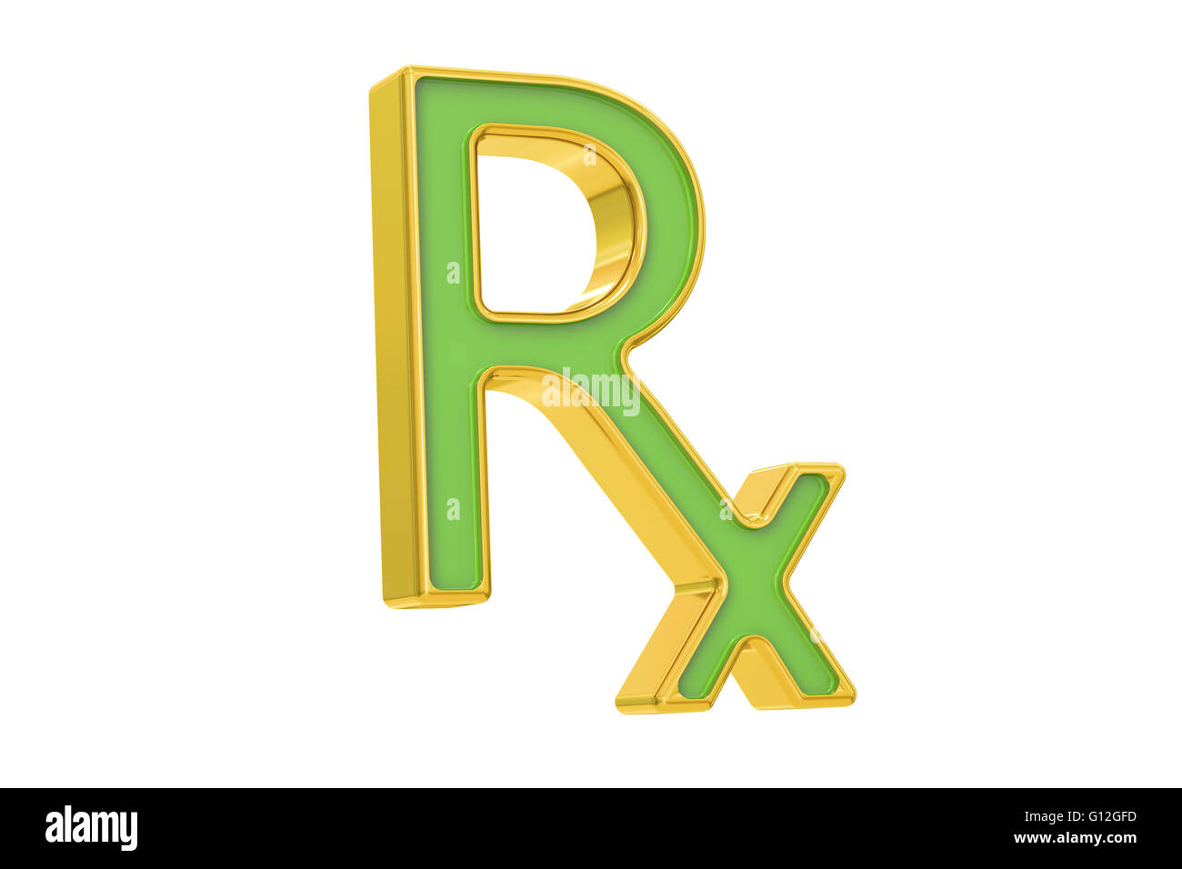 Rx Prescription Medicine Symbol 3d Rendering Stock Photo 103933745