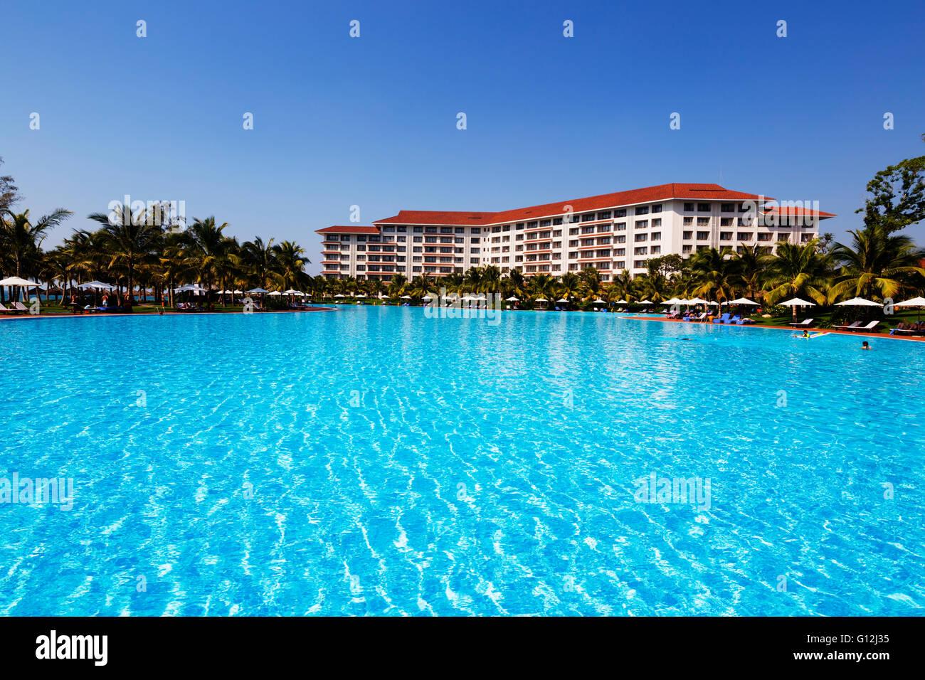 South East Asia, Vietnam, Phu Quoc island, Vinpearl Resort - Stock Image