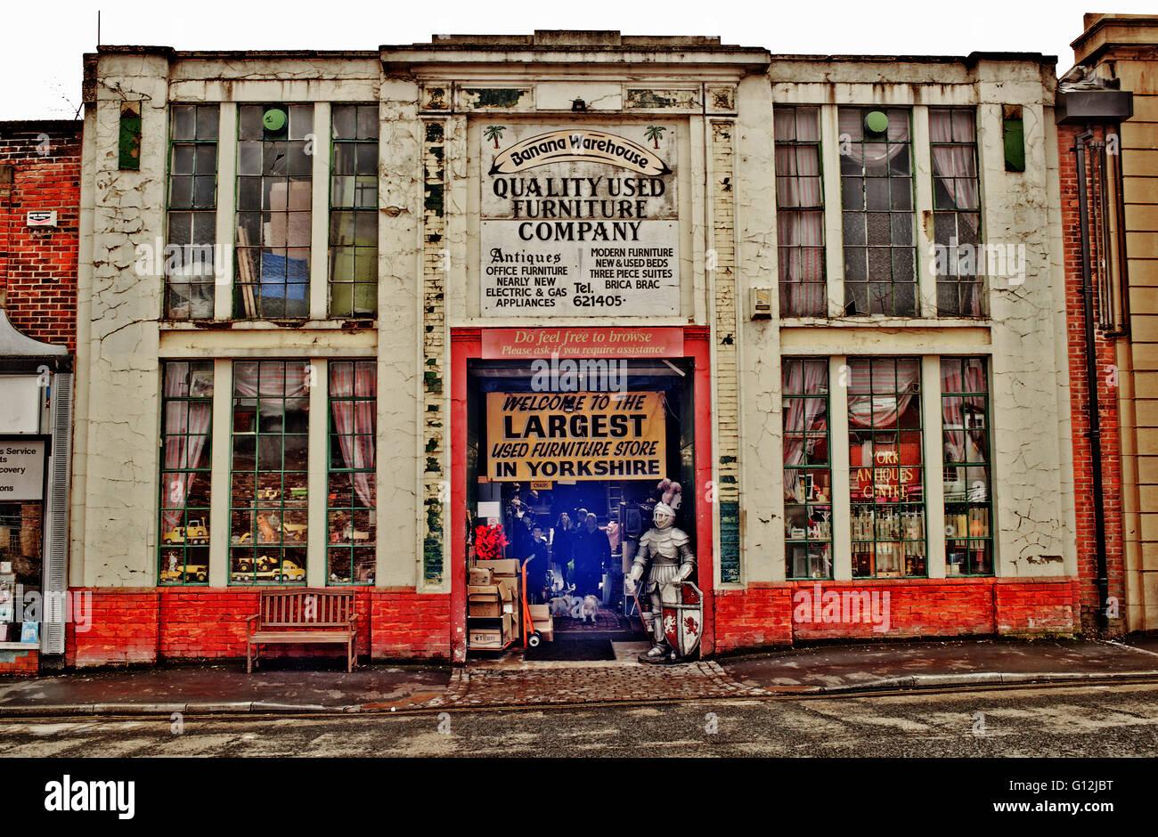 Banana Warehouse, York - Stock Image