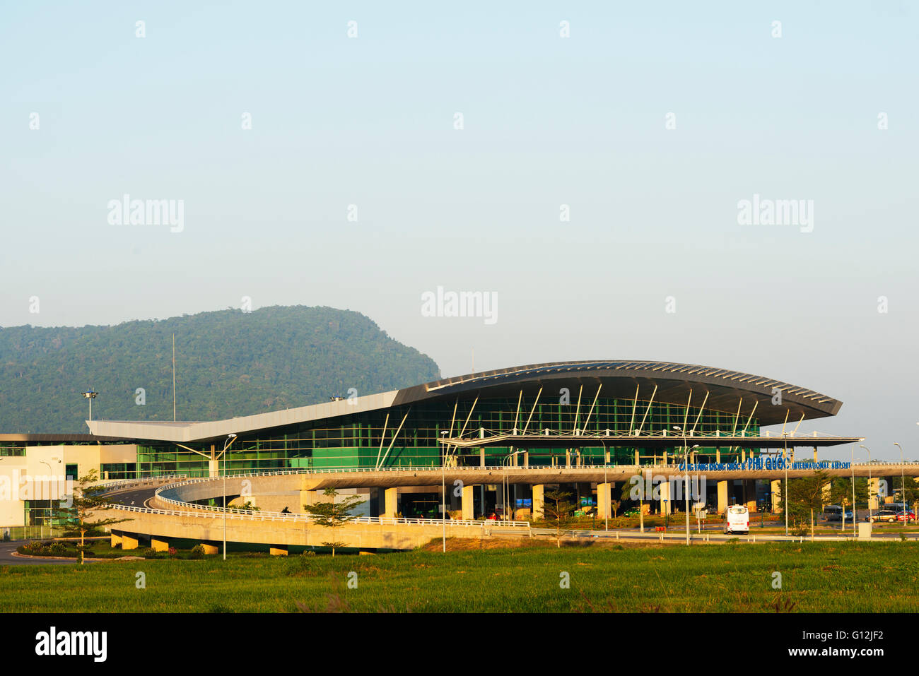 South East Asia, Vietnam, Phu Quoc island, airport - Stock Image