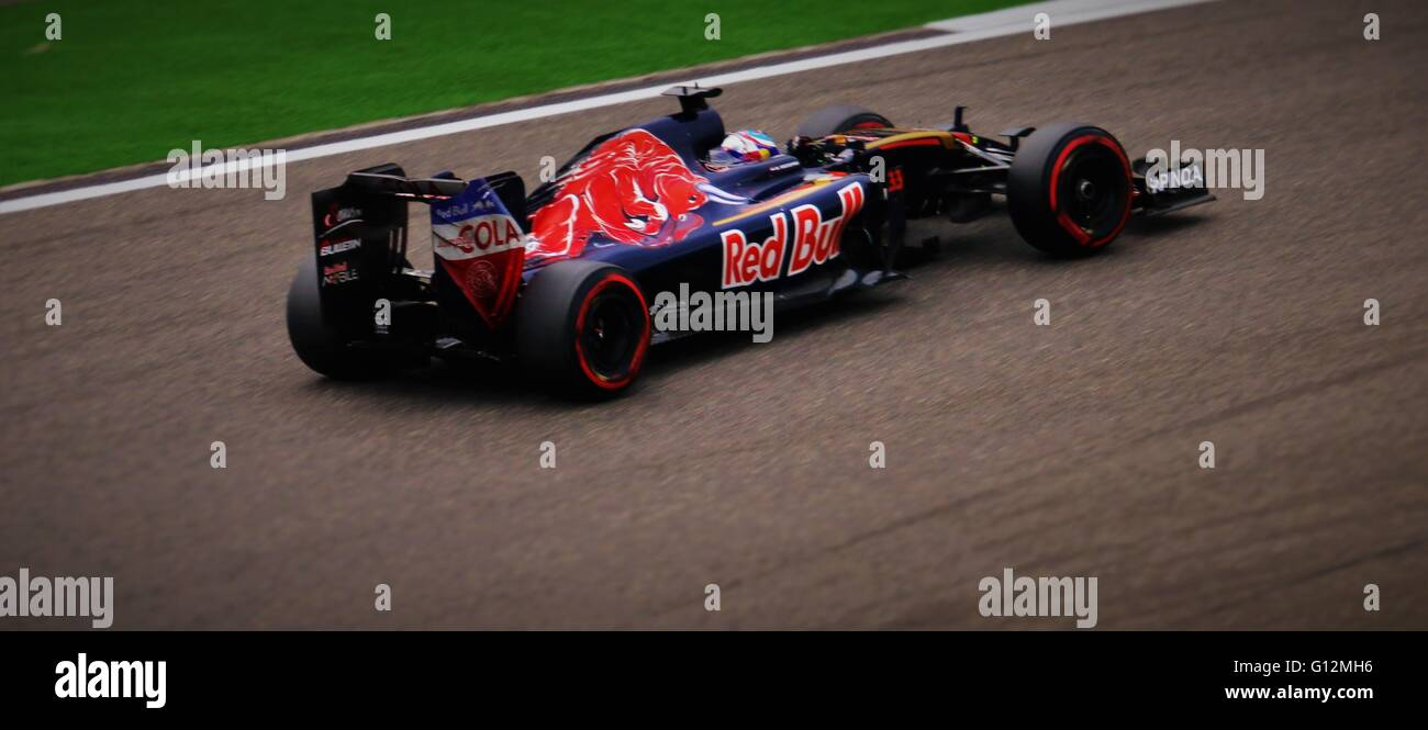 Redbull formula one race car at Shanghai F1, China, 2016. - Stock Image