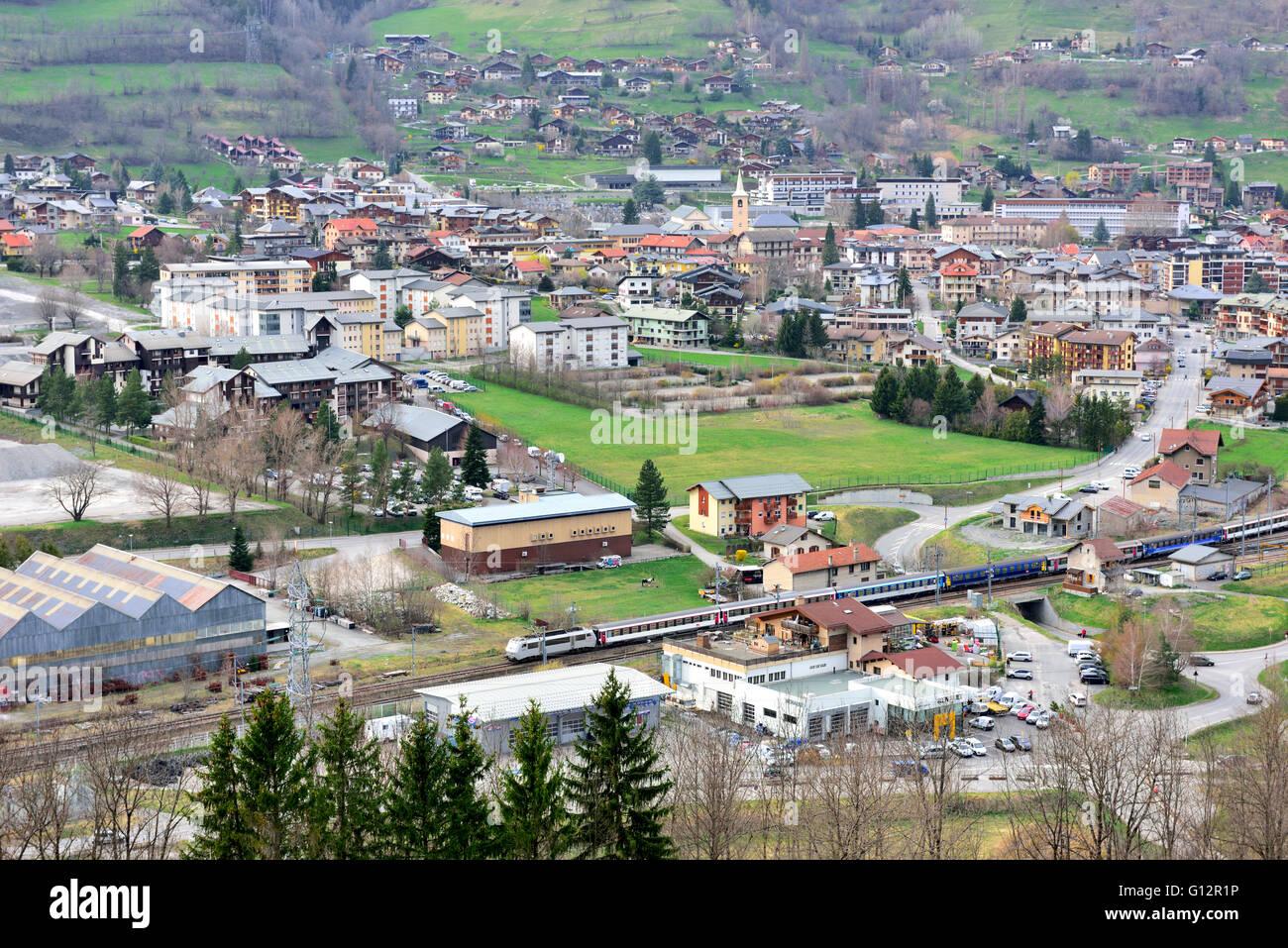village de bourg saint maurice